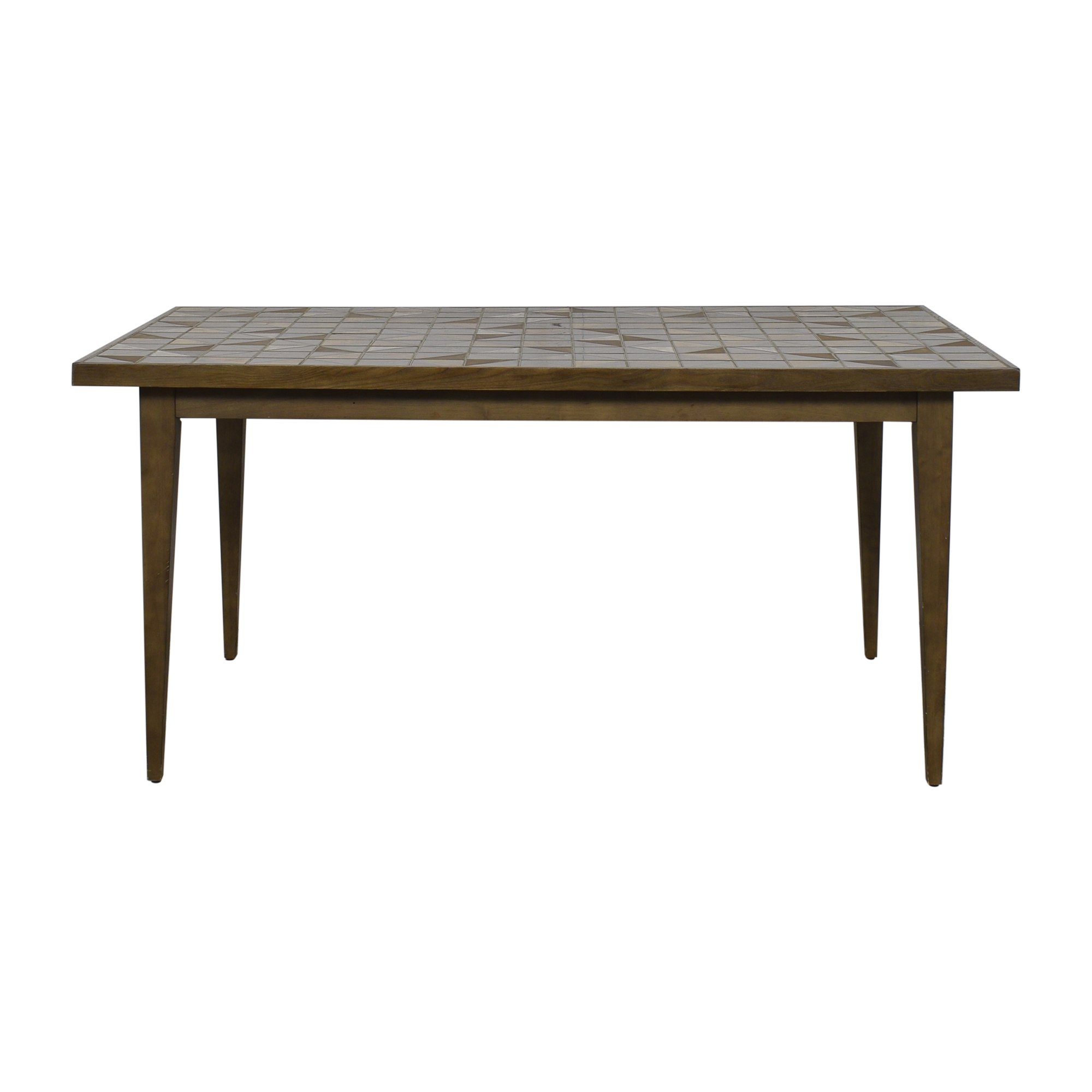shop West Elm Lubna Chowdhary Tiled Dining Table West Elm