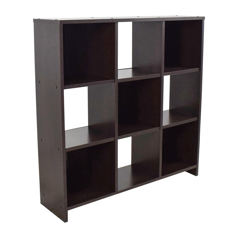 Modern Checkers Bookshelf Bookcases & Shelving