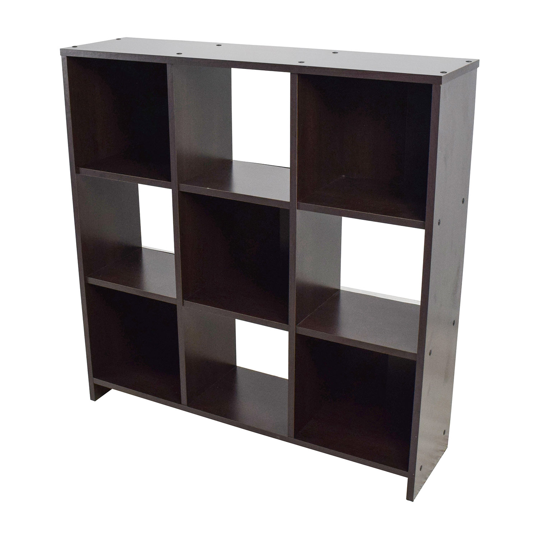 buy Modern Checkers Bookshelf Bookcases & Shelving