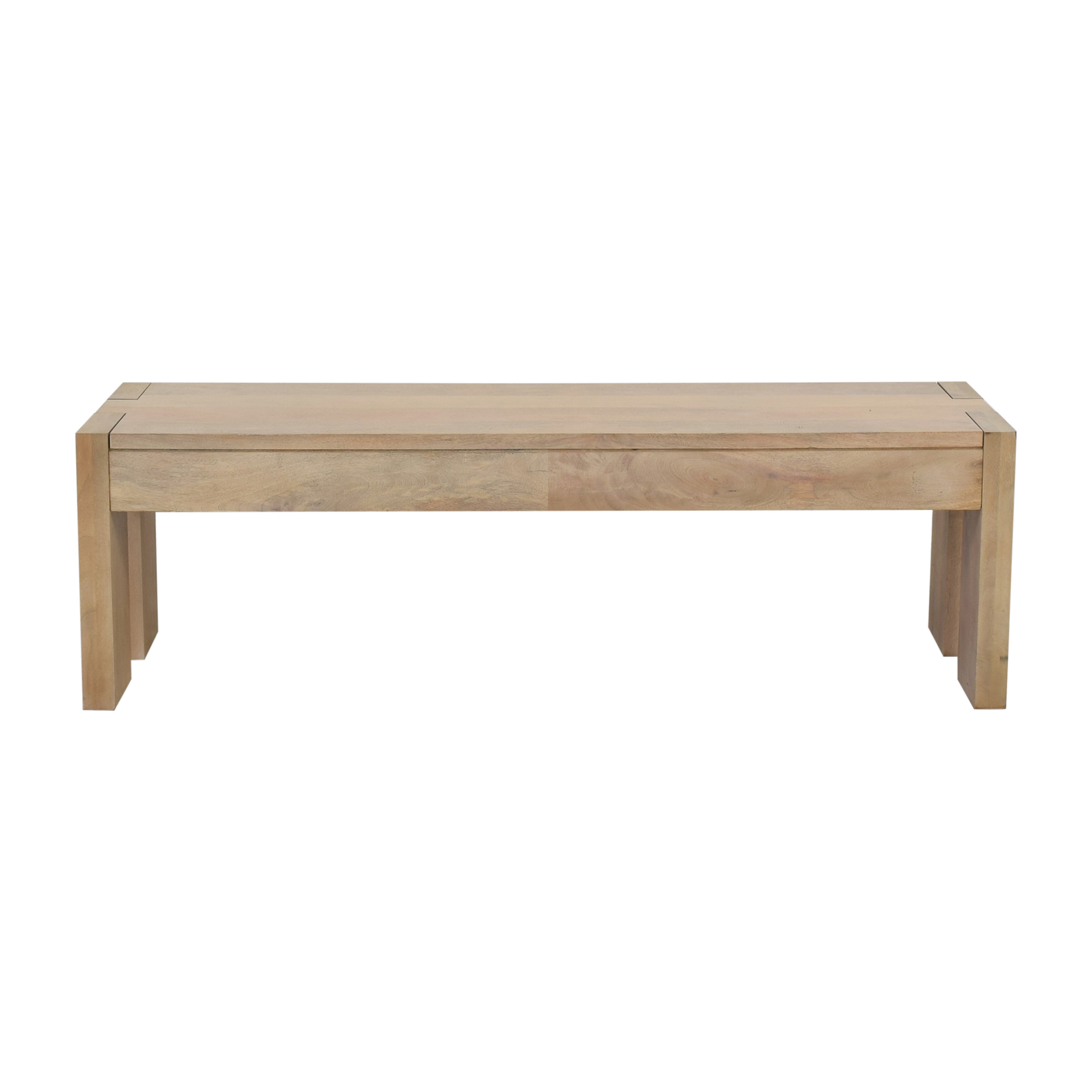 West Elm Boerum Dining Bench sale