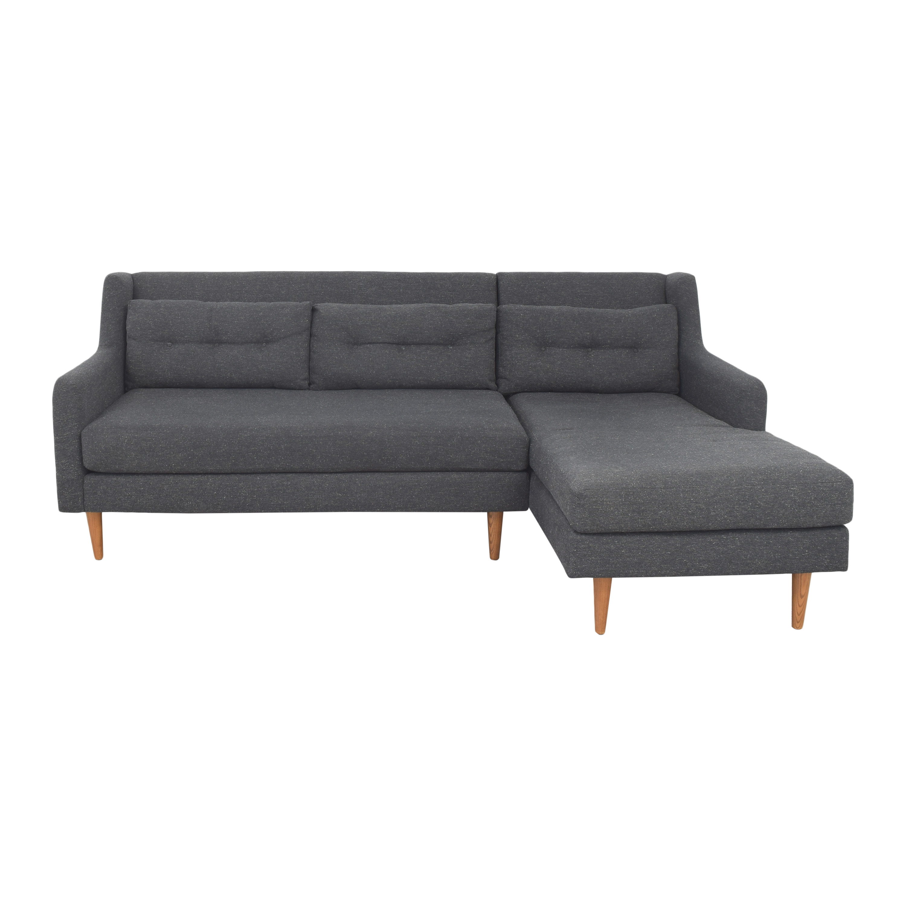 shop West Elm Crosby Sectional Sofa West Elm Sectionals