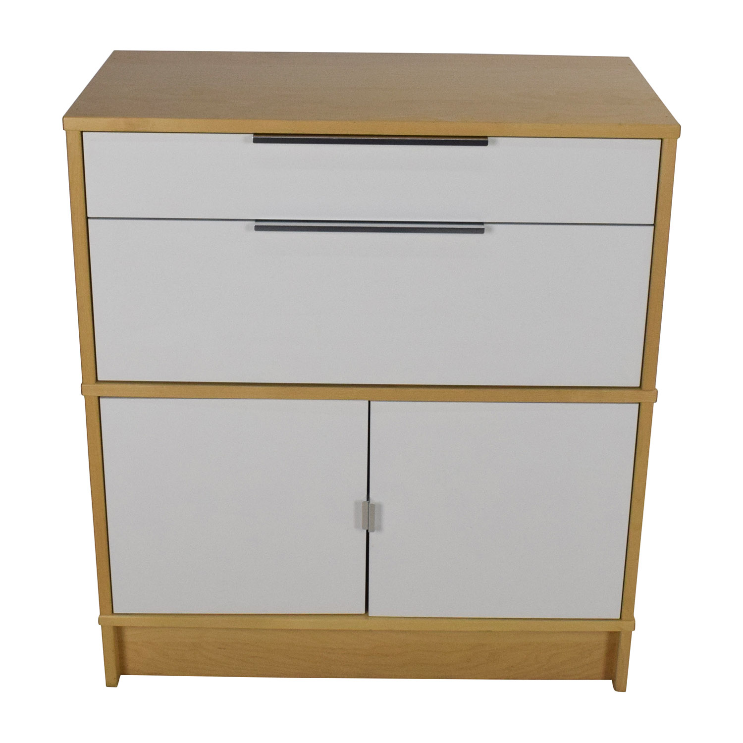 IKEA IKEA Storage Unit White/Light Brown
