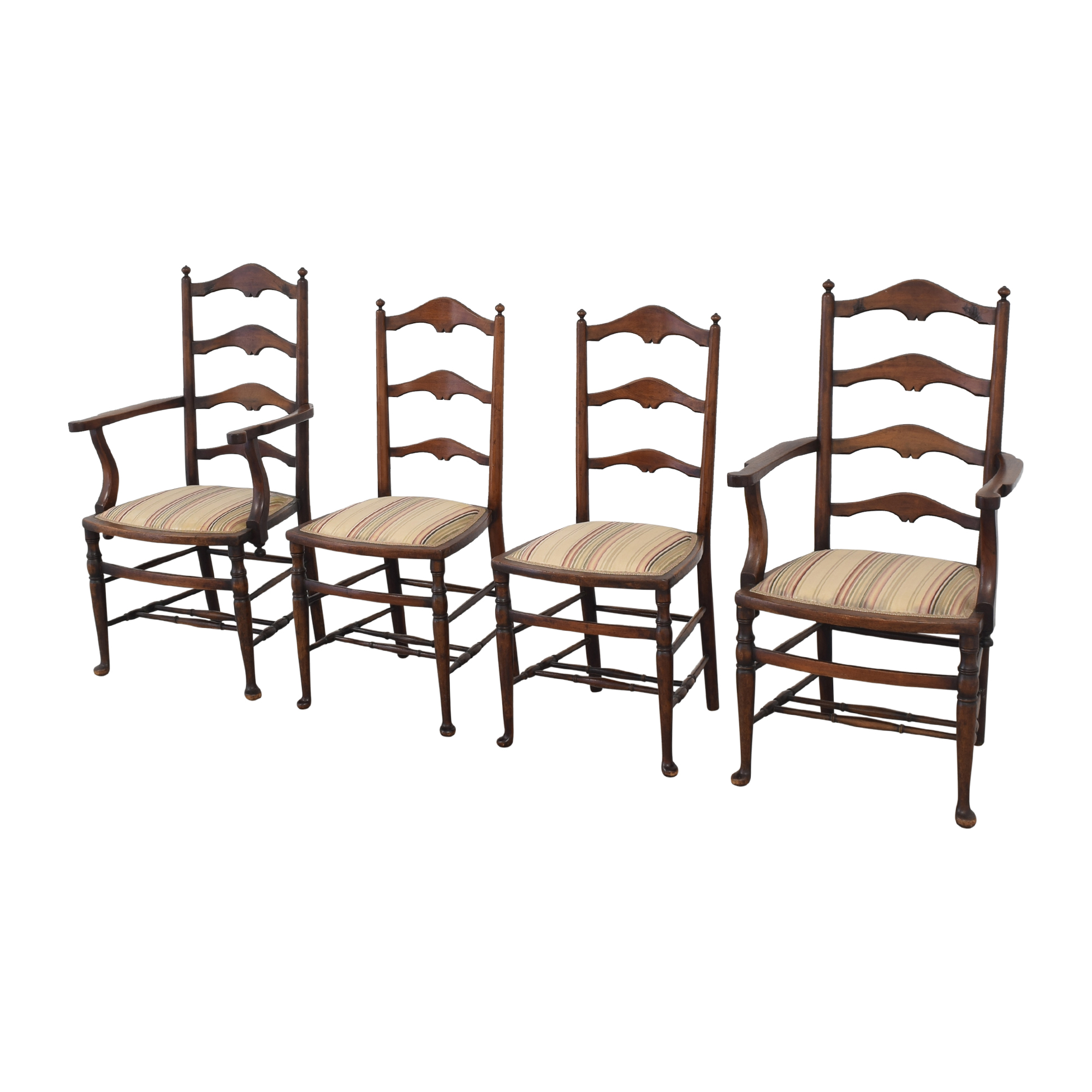 shop Vintage Ladder Back Dining Chairs  Chairs