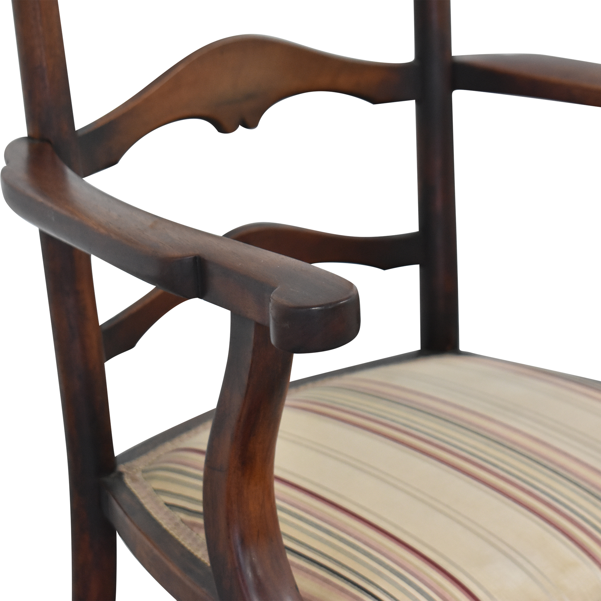 Vintage Ladder Back Dining Chairs Chairs