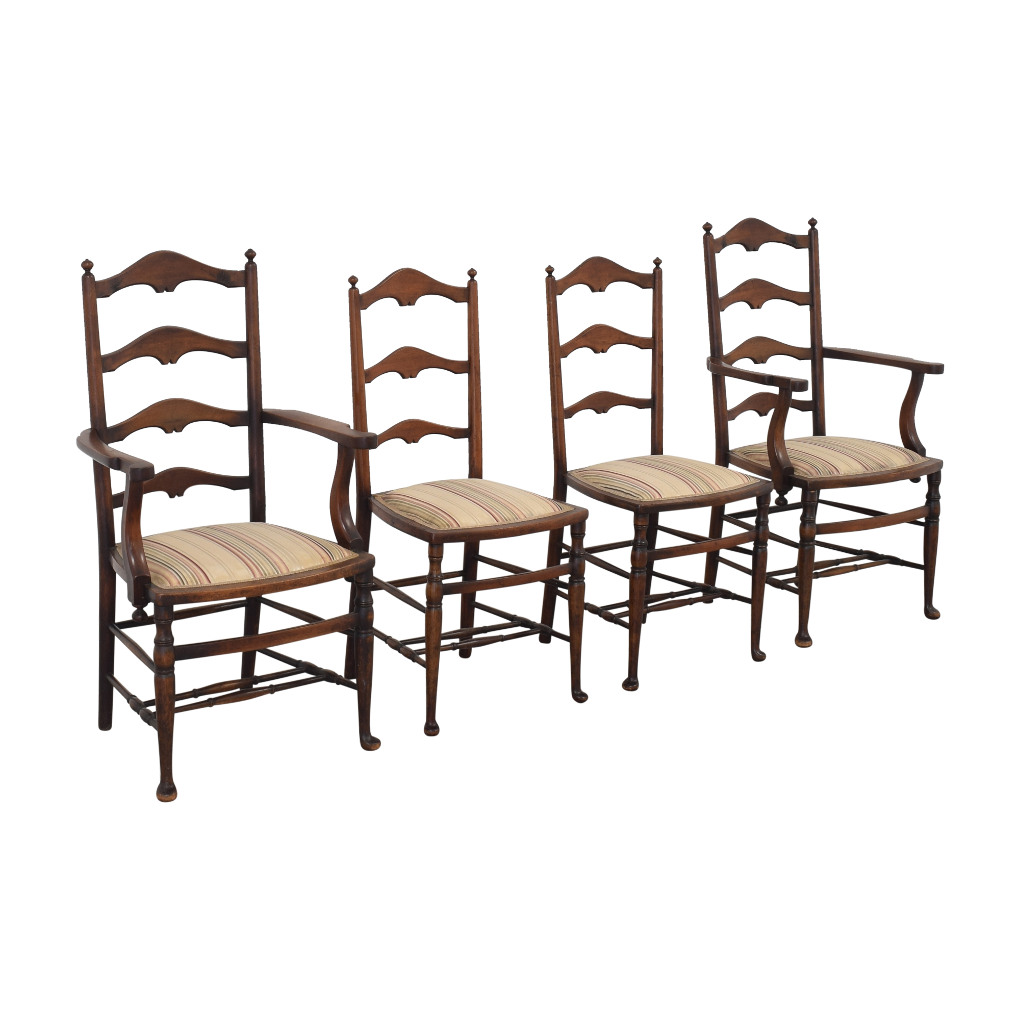 buy  Vintage Ladder Back Dining Chairs online