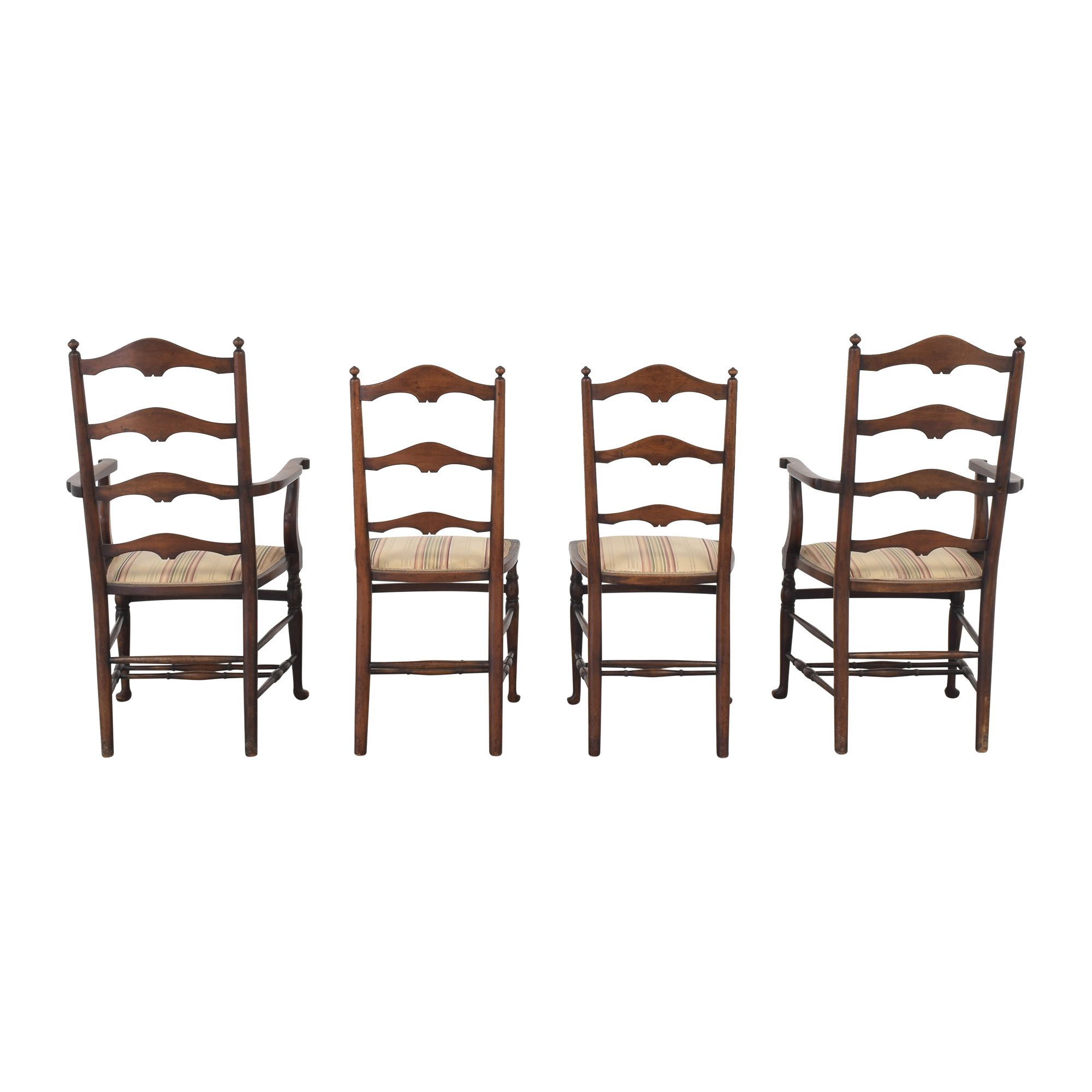 buy Vintage Ladder Back Dining Chairs  Chairs
