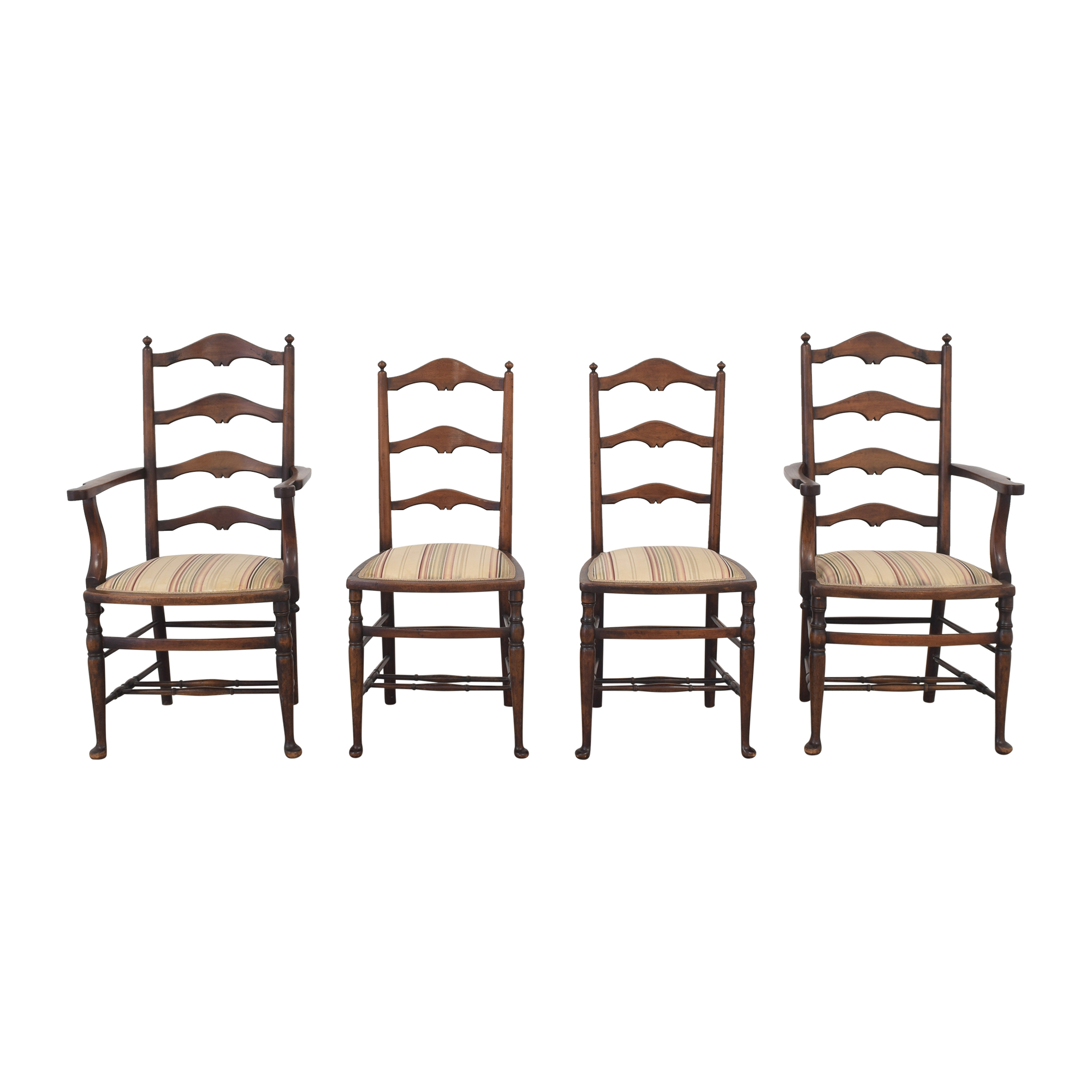 Vintage Ladder Back Dining Chairs price