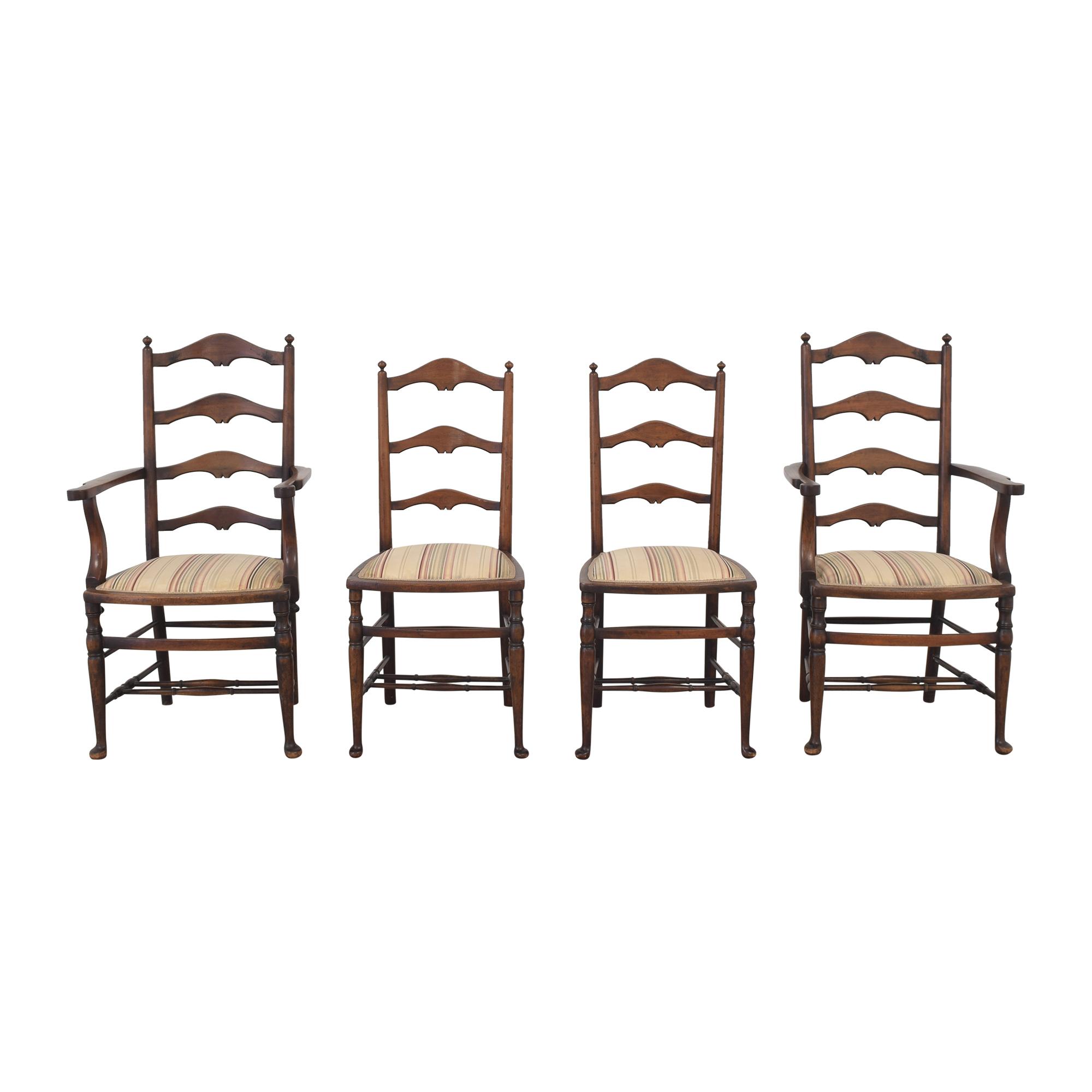 shop  Vintage Ladder Back Dining Chairs online