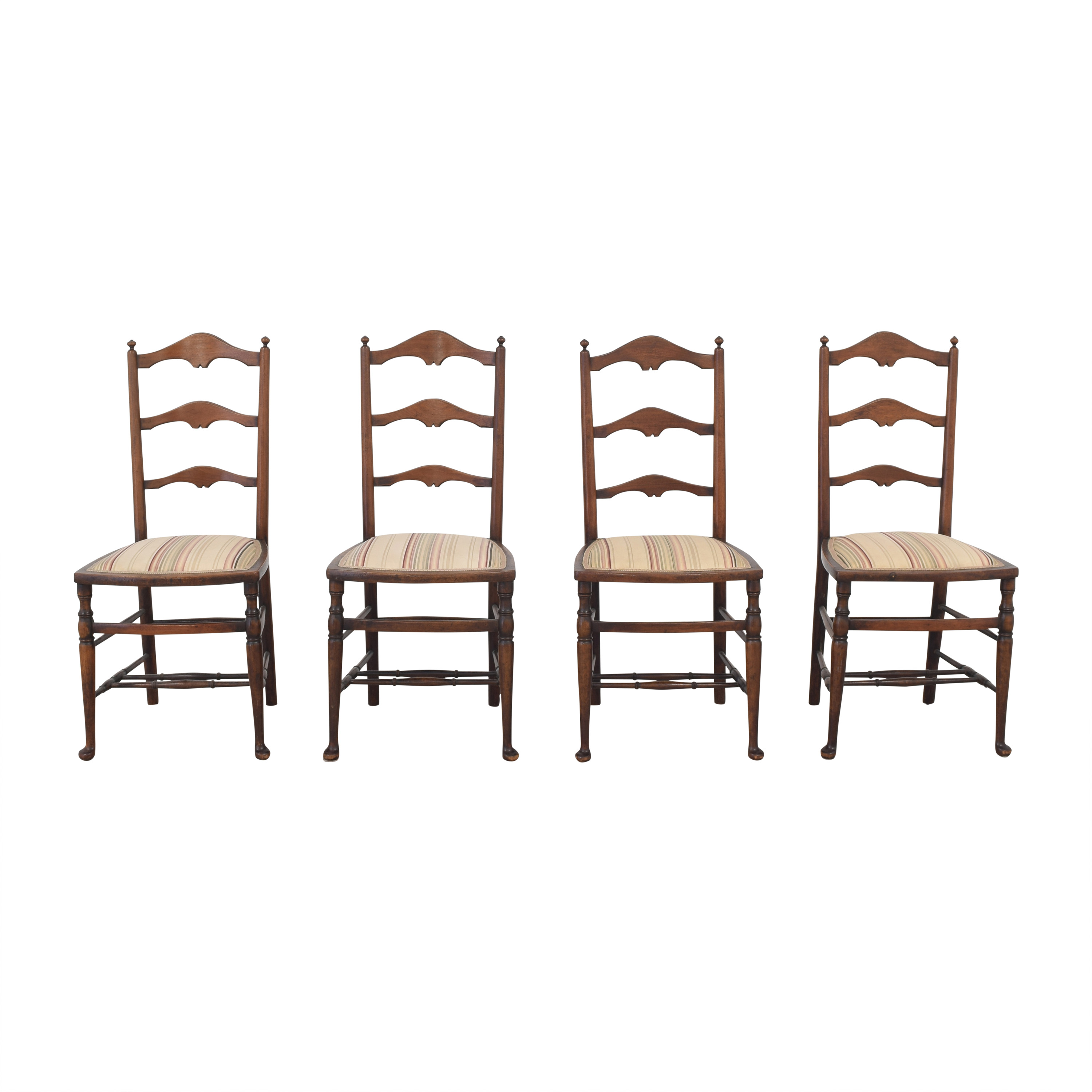 Vintage Ladder Back Chairs coupon