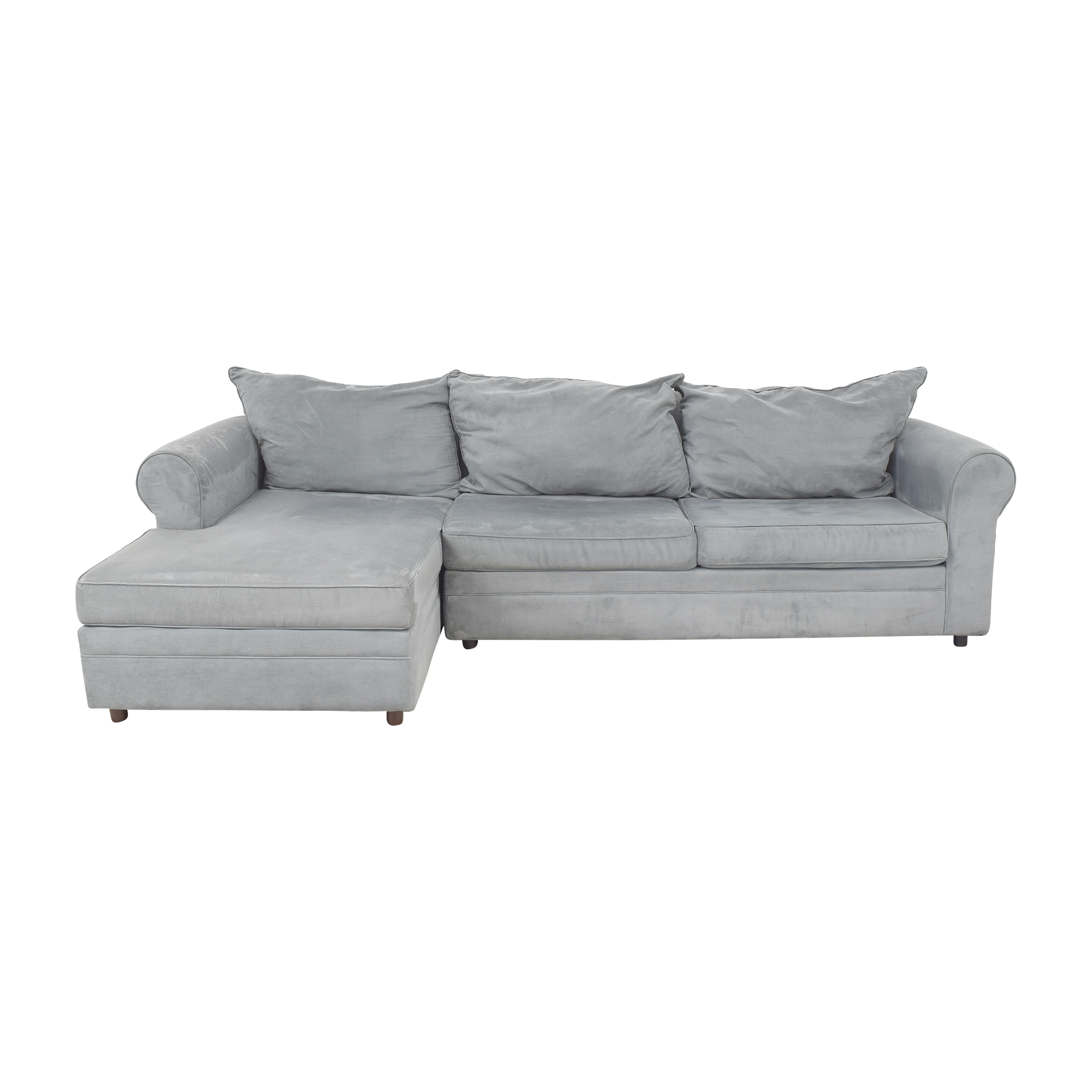 shop May Furniture 2-Piece Sectional Sofa May Furniture