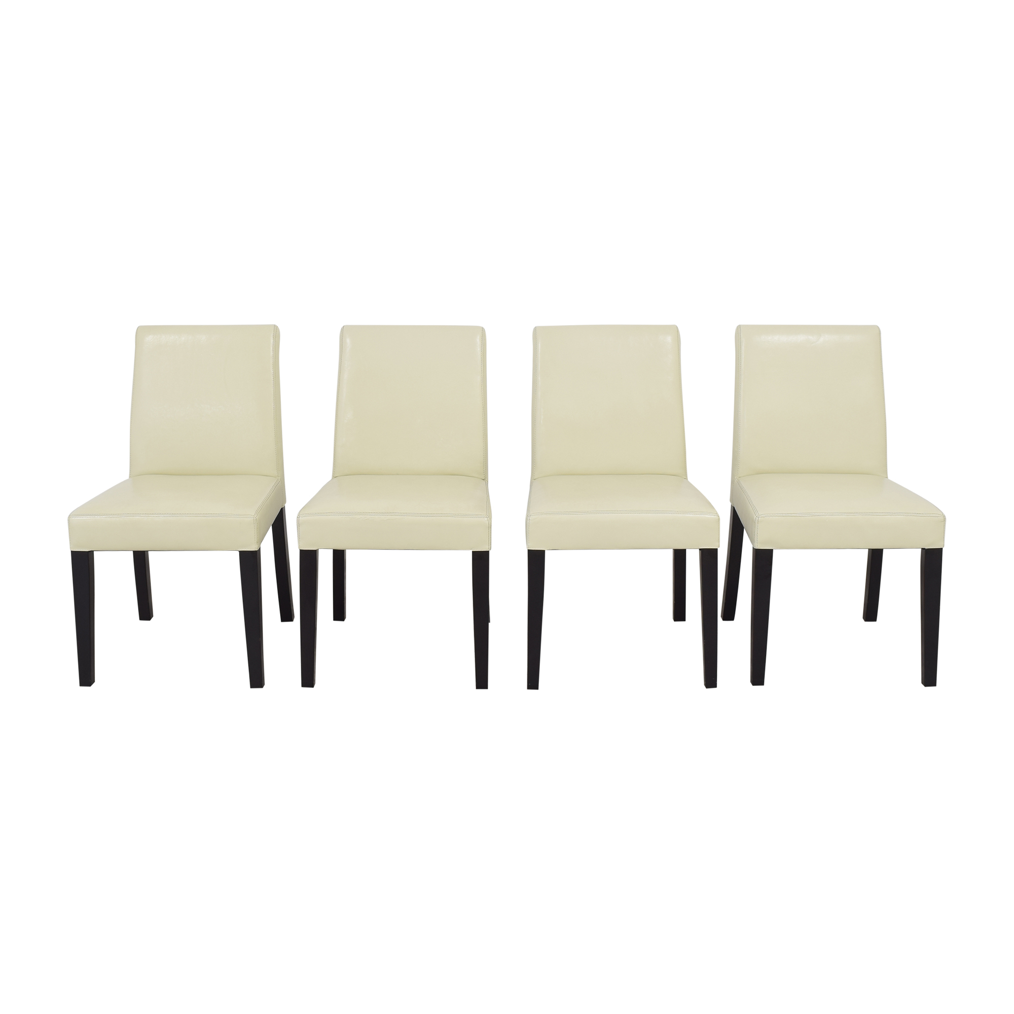 shop Crate & Barrel Pullman Dining Chairs Crate & Barrel Dining Chairs