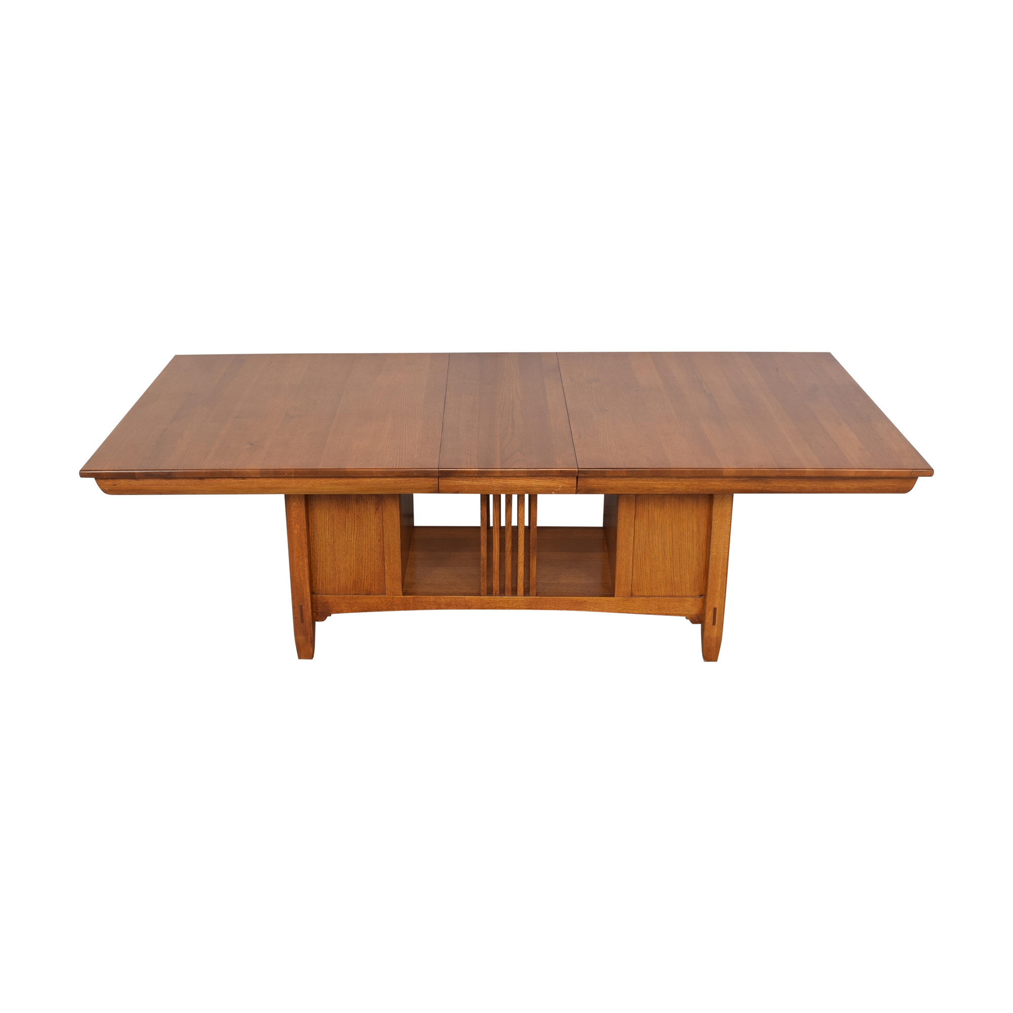 Lexington Furniture Lexington Bob Timberlake Arts & Crafts Collection Storage Dining Table dimensions