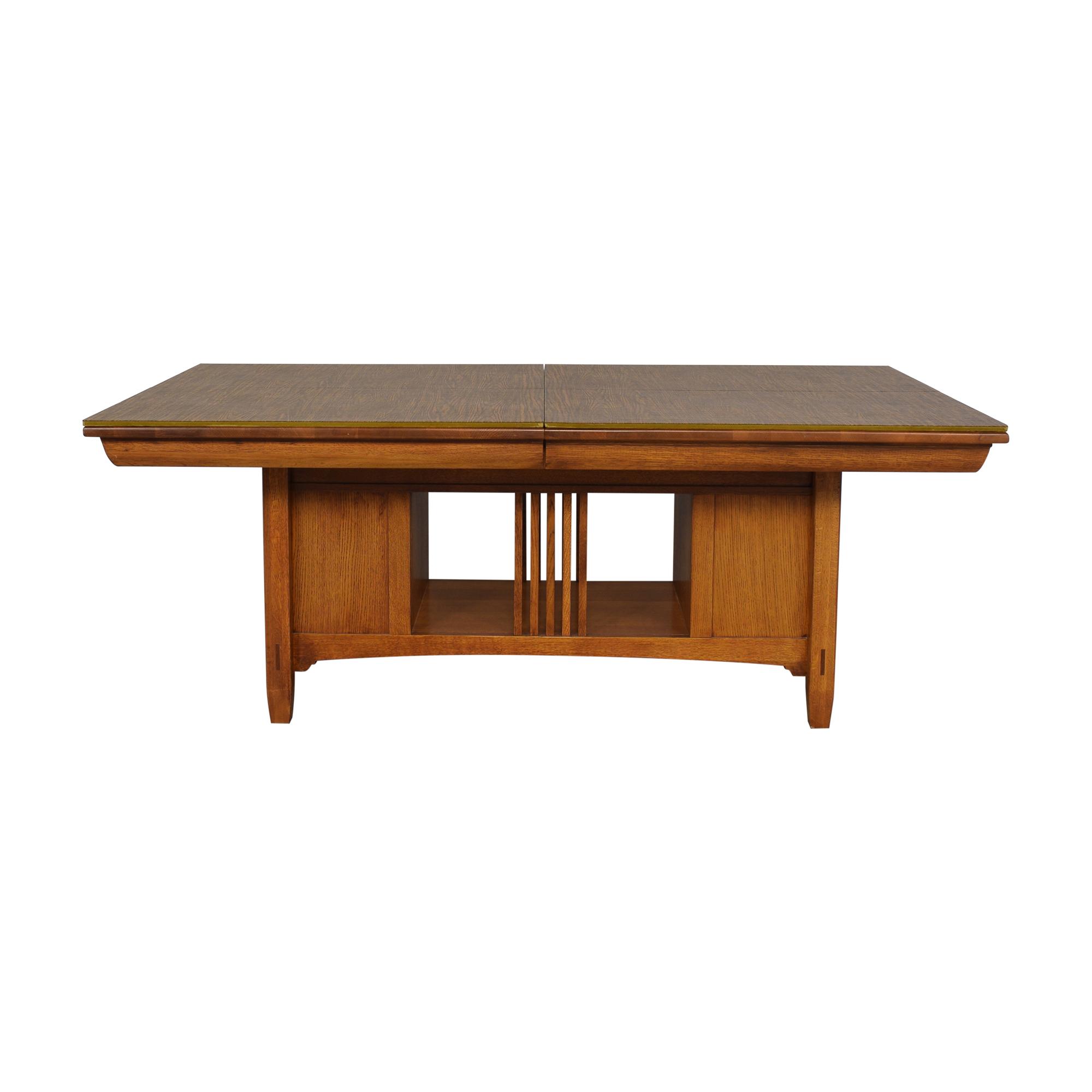 Lexington Furniture Lexington Bob Timberlake Arts & Crafts Collection Storage Dining Table price