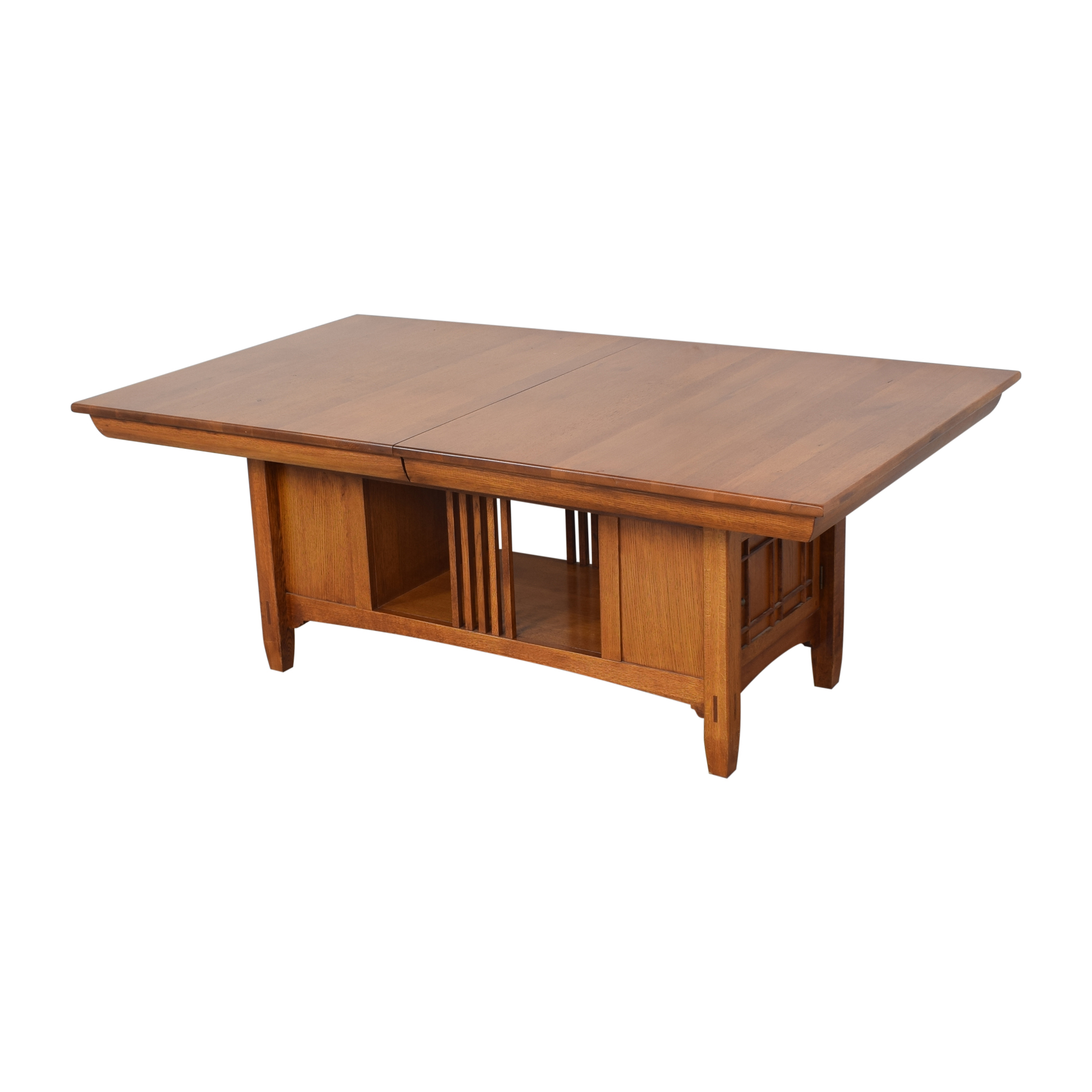 buy Lexington Bob Timberlake Arts & Crafts Collection Storage Dining Table Lexington Furniture