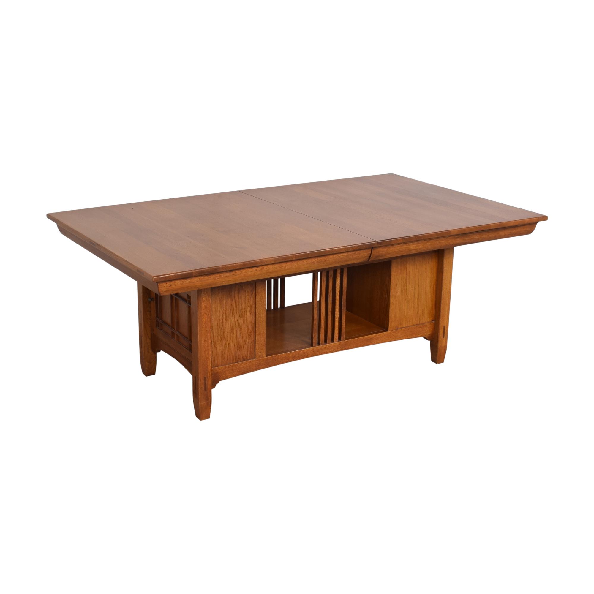 Lexington Furniture Lexington Bob Timberlake Arts & Crafts Collection Storage Dining Table discount