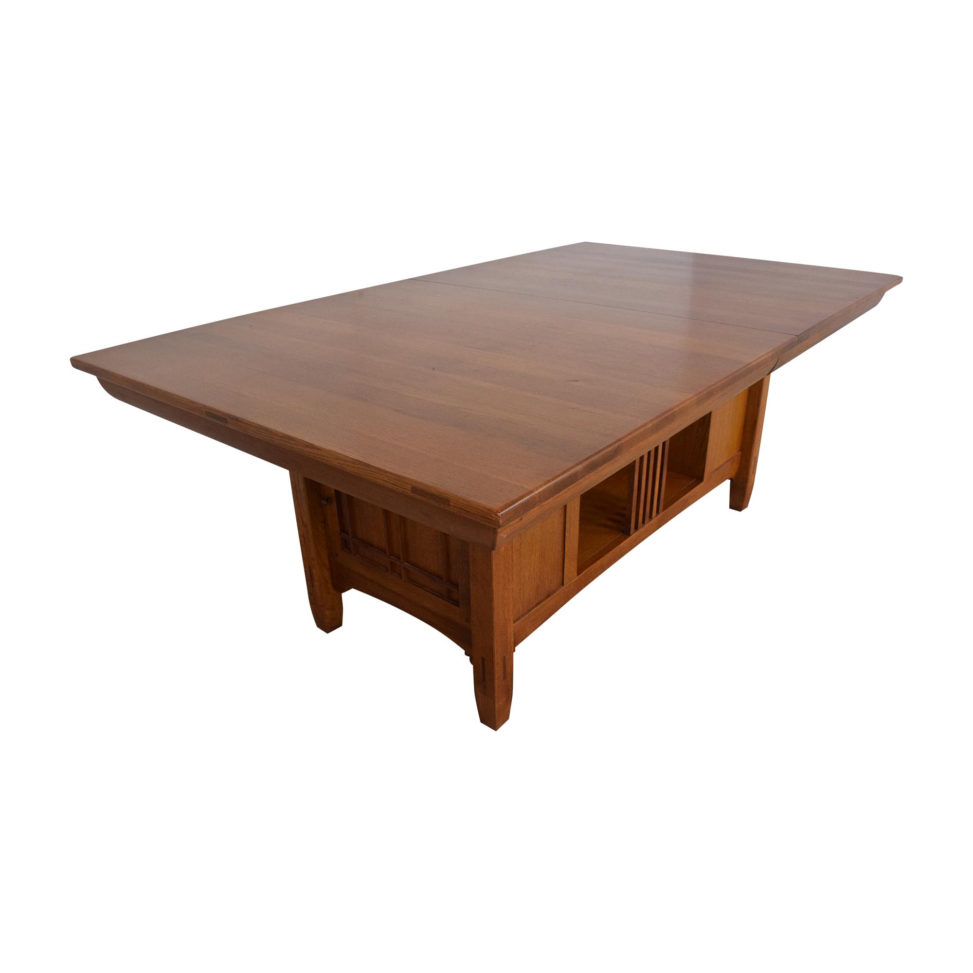 Lexington Furniture Lexington Bob Timberlake Arts & Crafts Collection Storage Dining Table ma