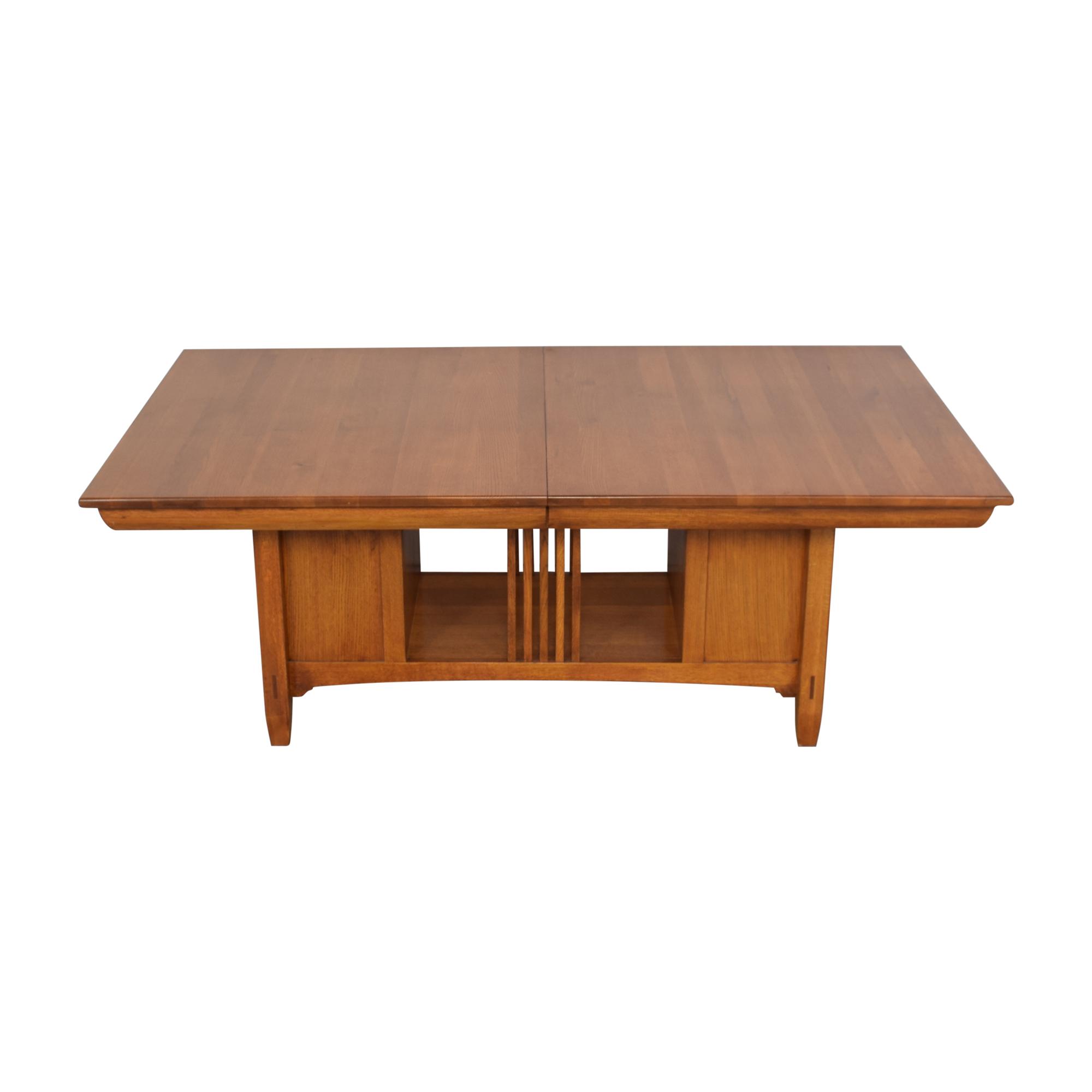 shop Lexington Bob Timberlake Arts & Crafts Collection Storage Dining Table Lexington Furniture