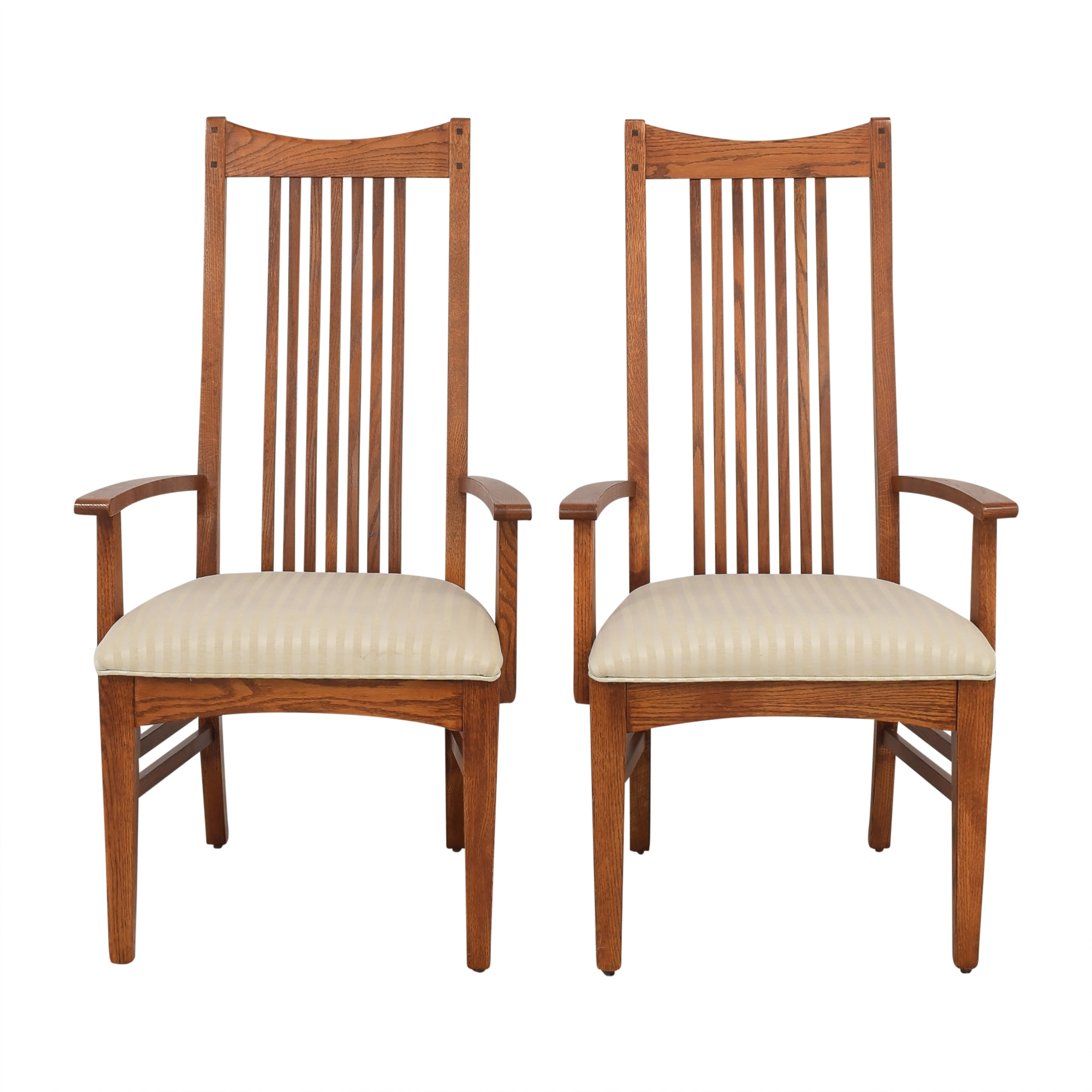 Lexington Furniture Lexington Furniture Arts & Crafts Dining Arm Chairs Dining Chairs