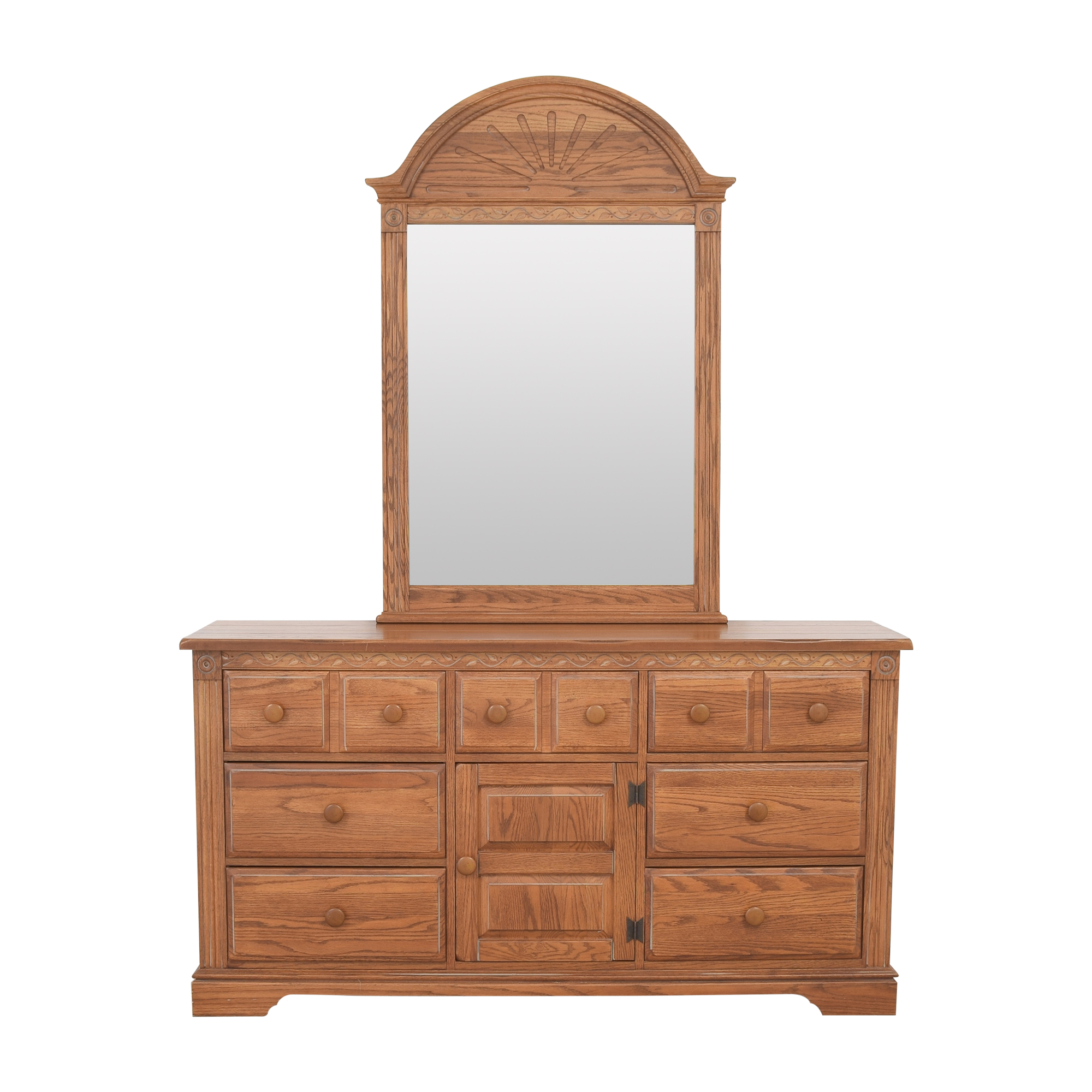 Broyhill Furniture Broyhill Door Dresser with Mirror nyc
