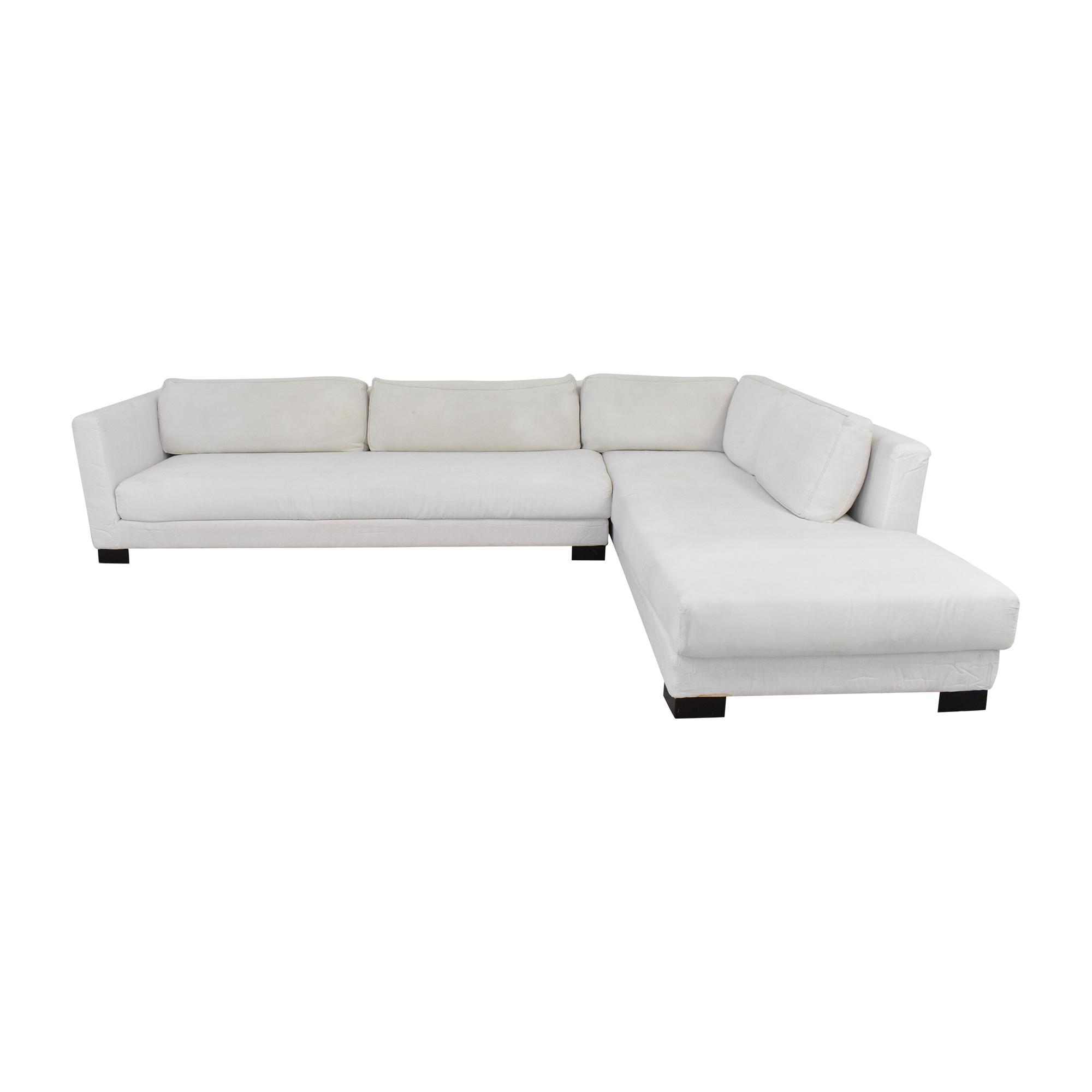 buy Verzelloni Link Sectional Sofa with Chaise Verzelloni