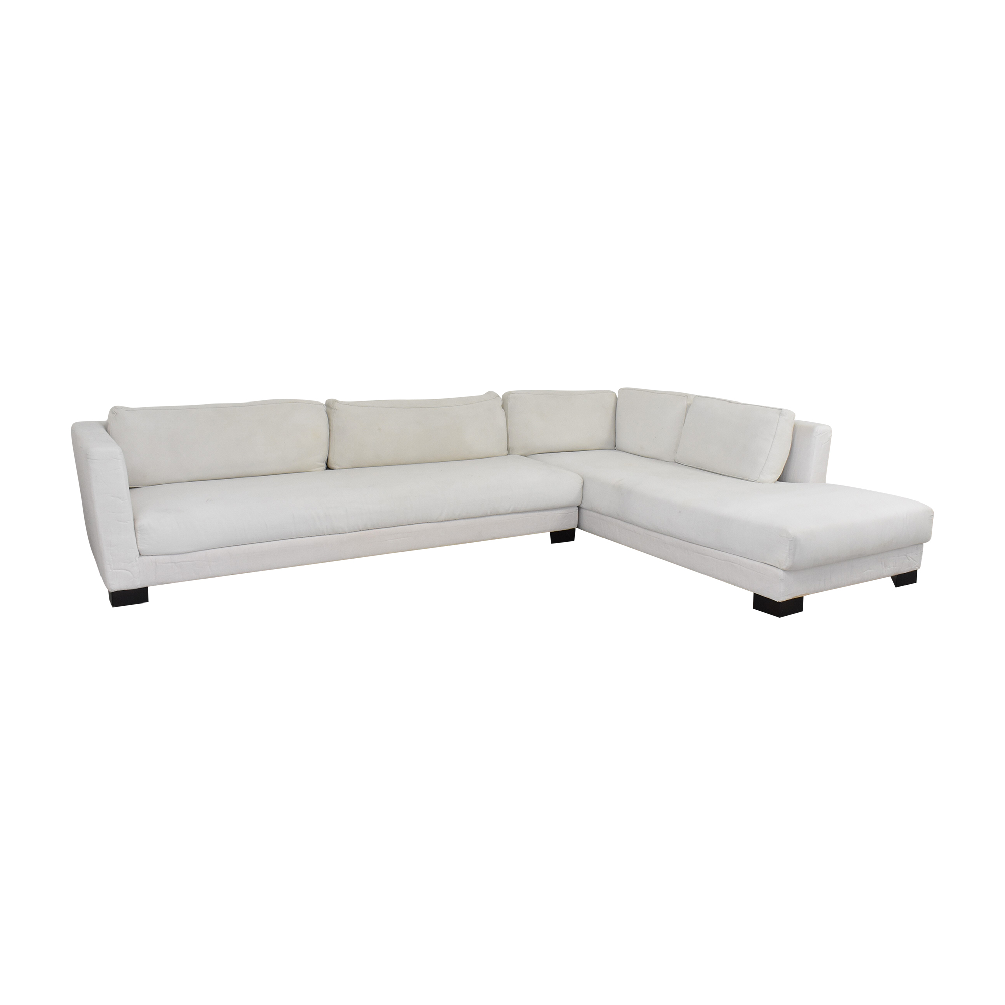 Verzelloni Verzelloni Link Sectional Sofa with Chaise dimensions