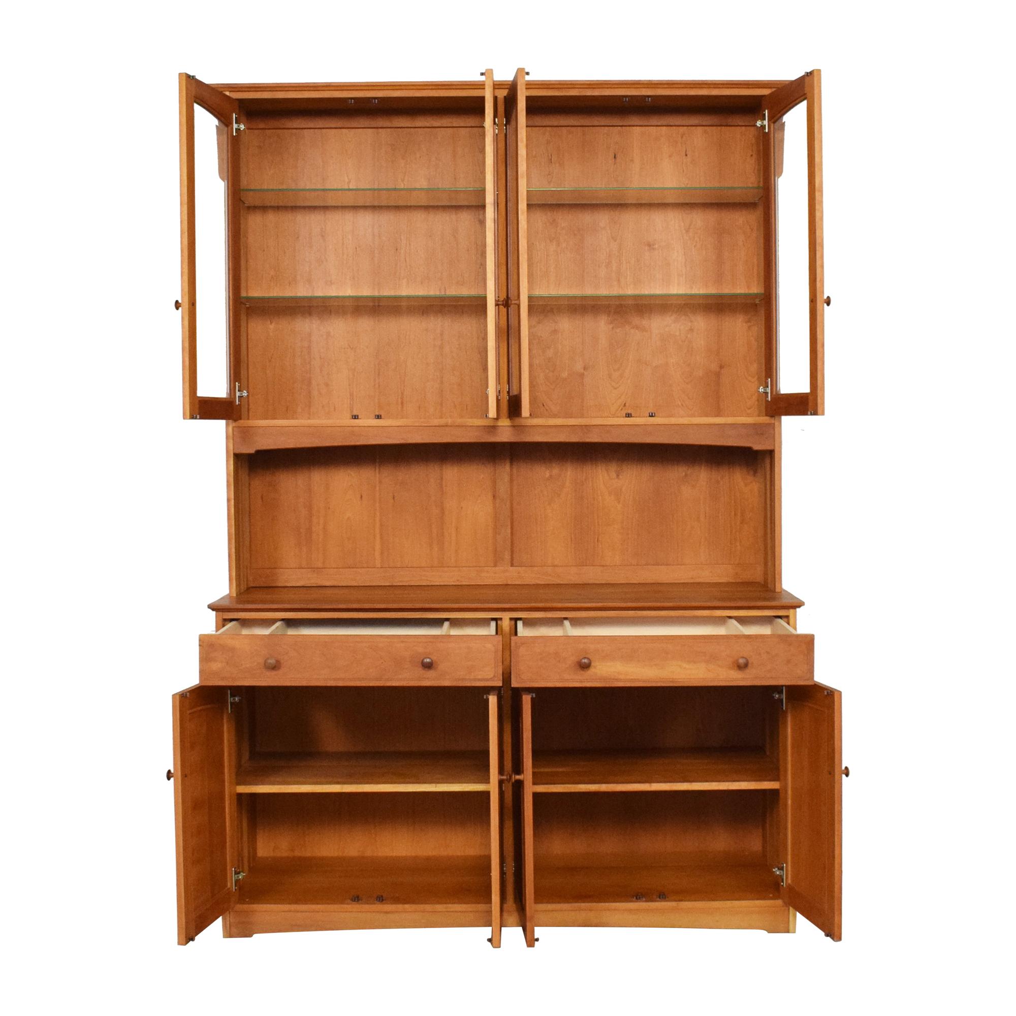 Scott Jordan Furniture Scott Jordan Buffet with Hutch Cabinets & Sideboards