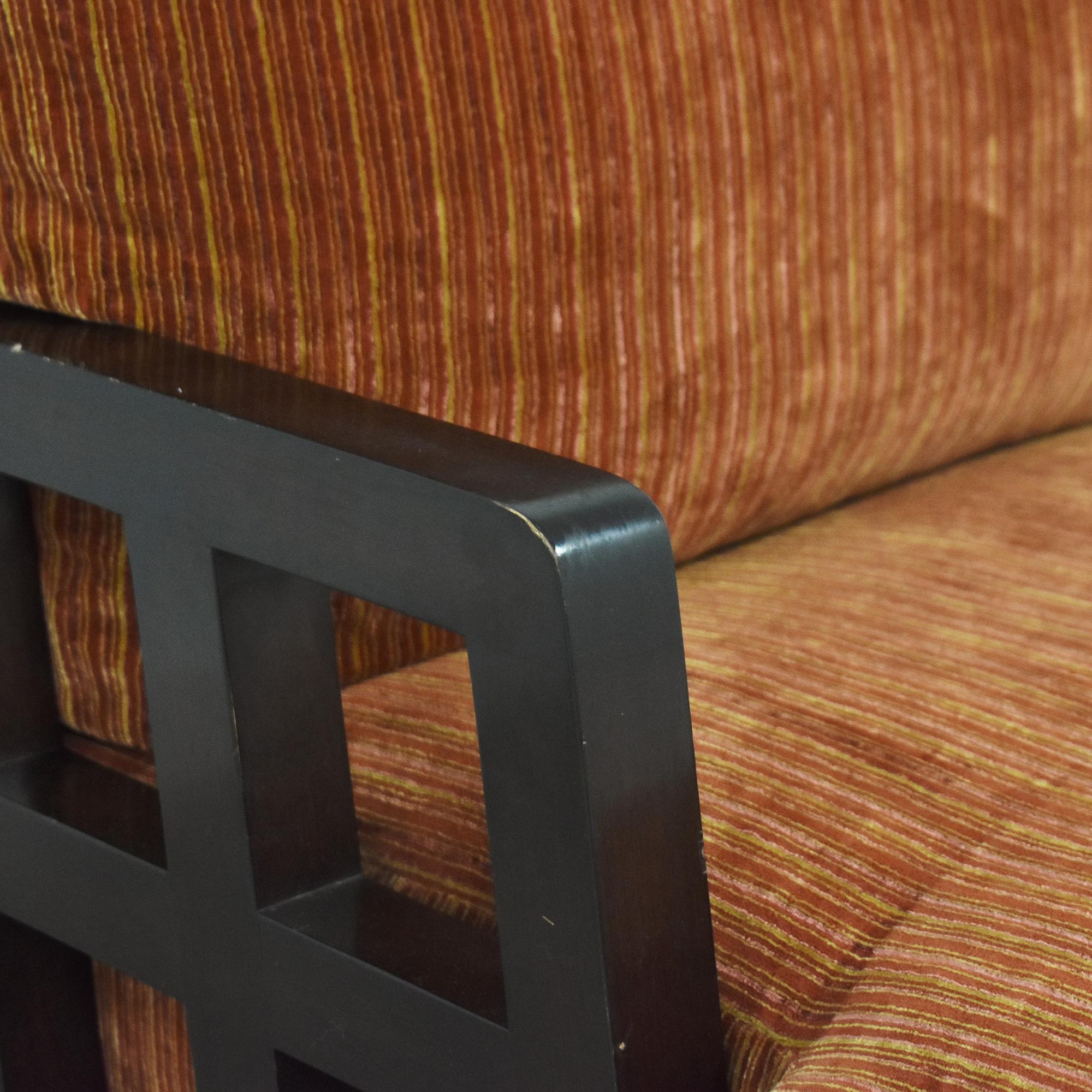 Berman   Rosetti Fretwork Lounge Armchair sale