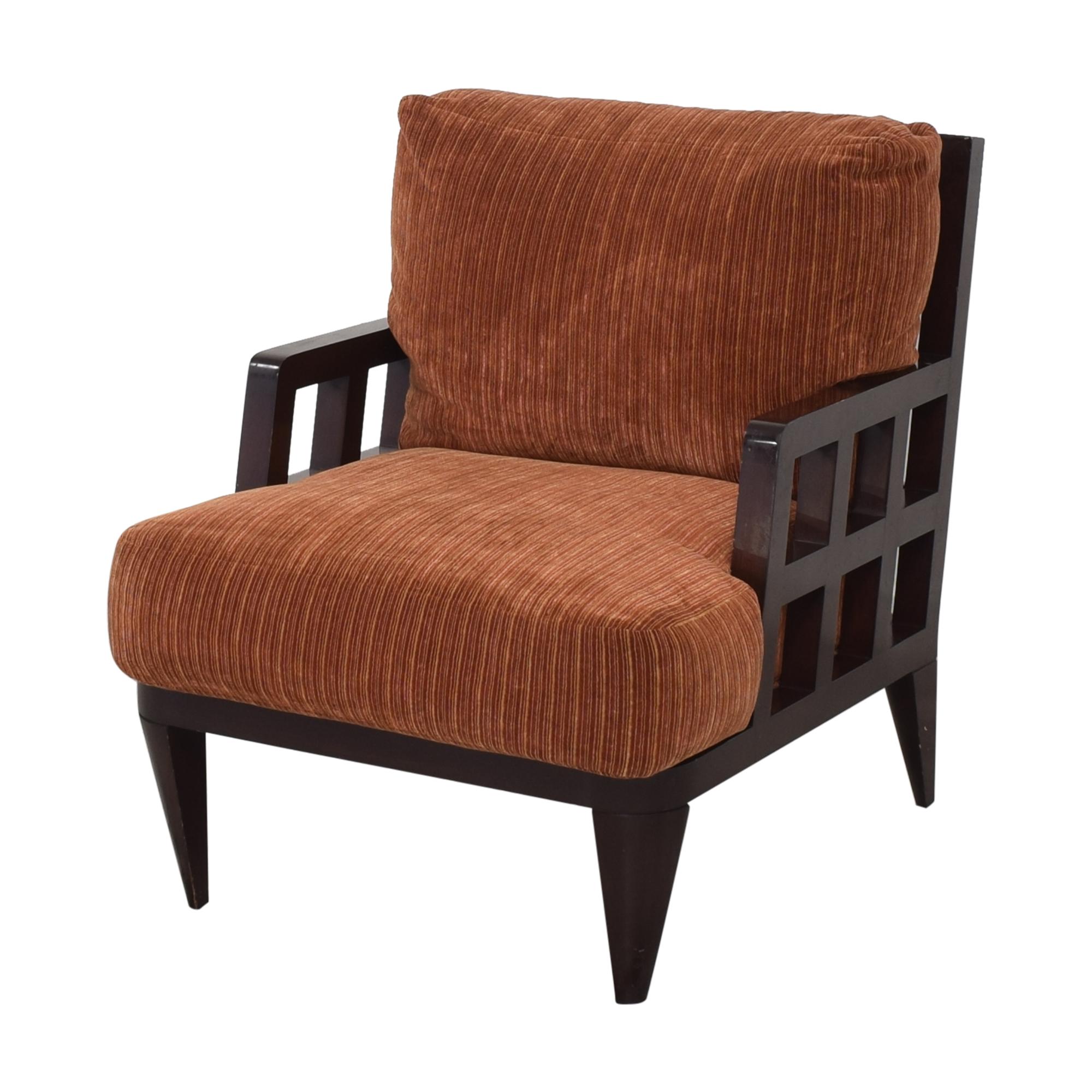 Berman   Rosetti Berman   Rosetti Fretwork Lounge Armchair ct
