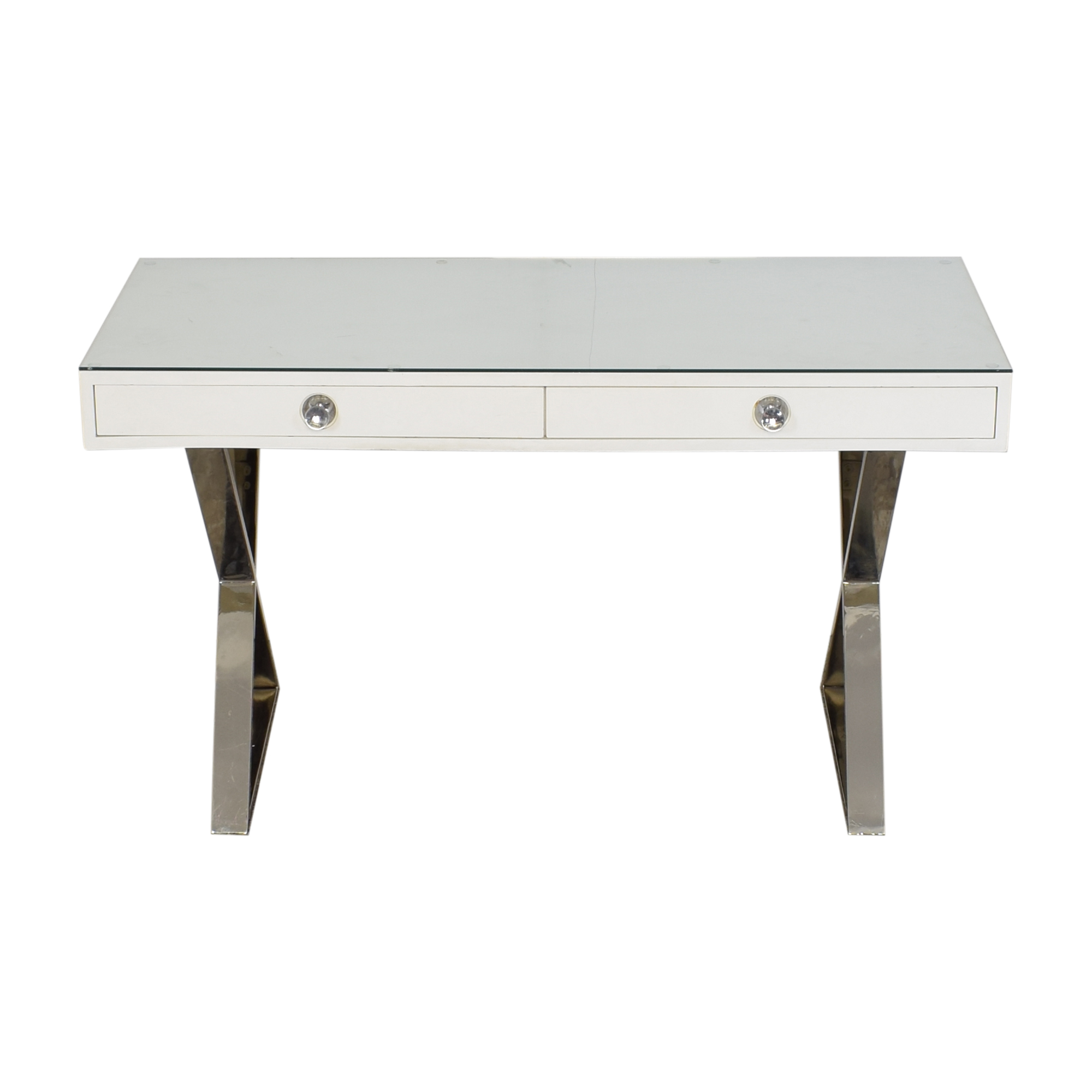 Jonathan Adler Jonathan Alder Channing Desk in White nyc