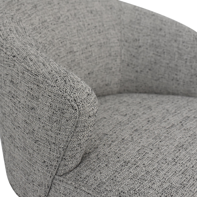Vanguard Furniture Vanguard Clive Daniel Counter Stool grey & white