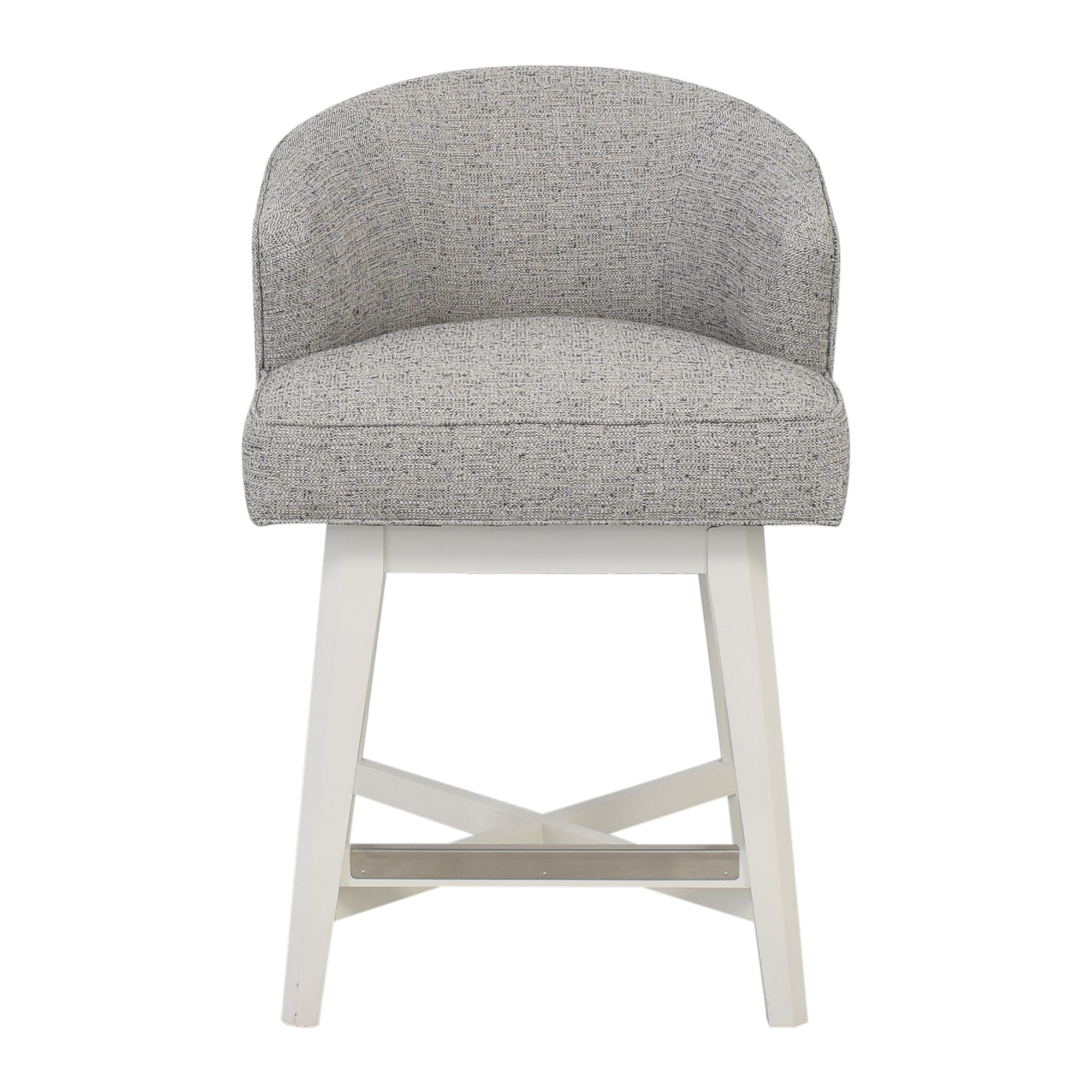 Vanguard Furniture Vanguard Clive Daniel Counter Stool grey & white