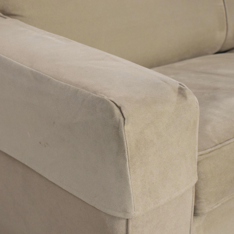 buy Crate & Barrel Davis Sleeper Sofa Crate & Barrel