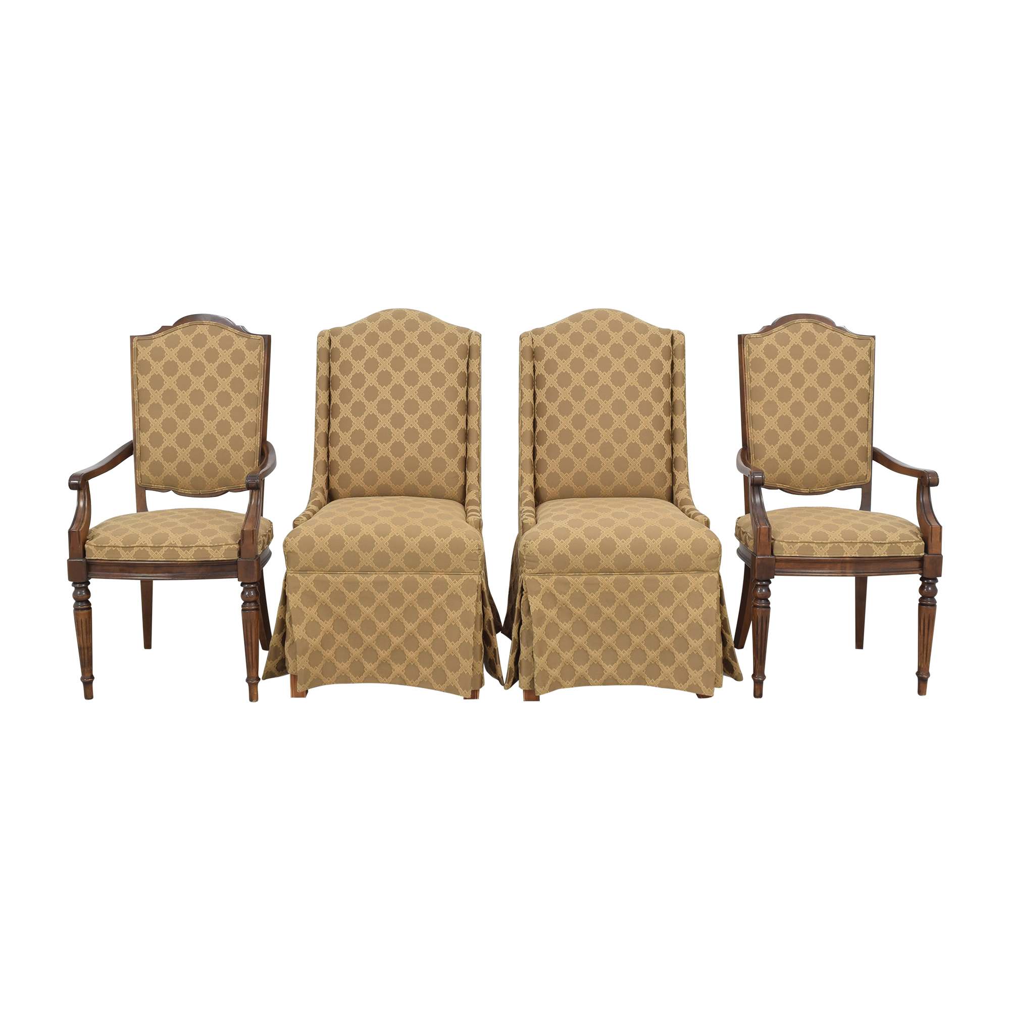 Ethan Allen Ethan Allen Upholstered Dining Chairs on sale
