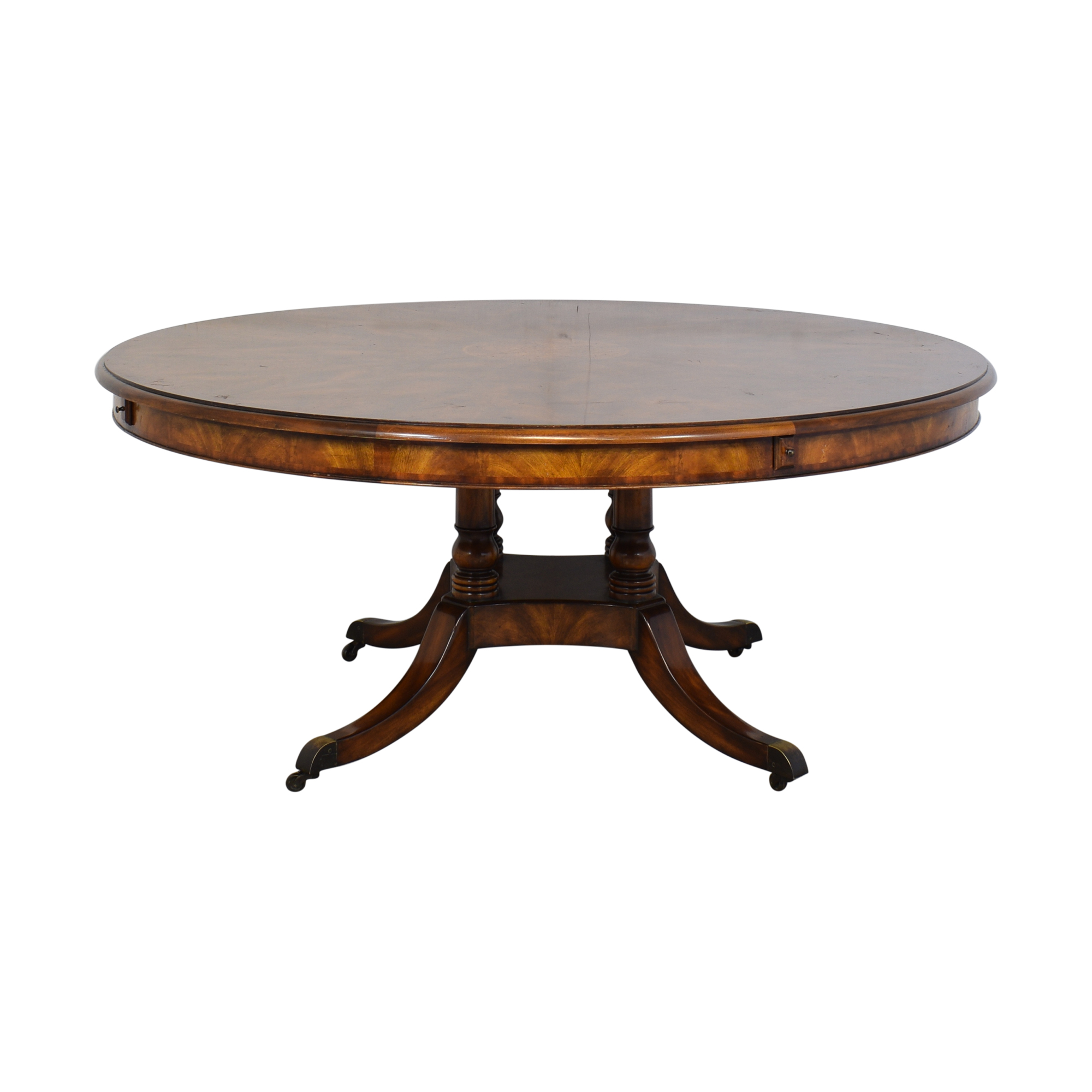 Theodore Alexander Theodore Alexander Pedestal Dining Table nyc