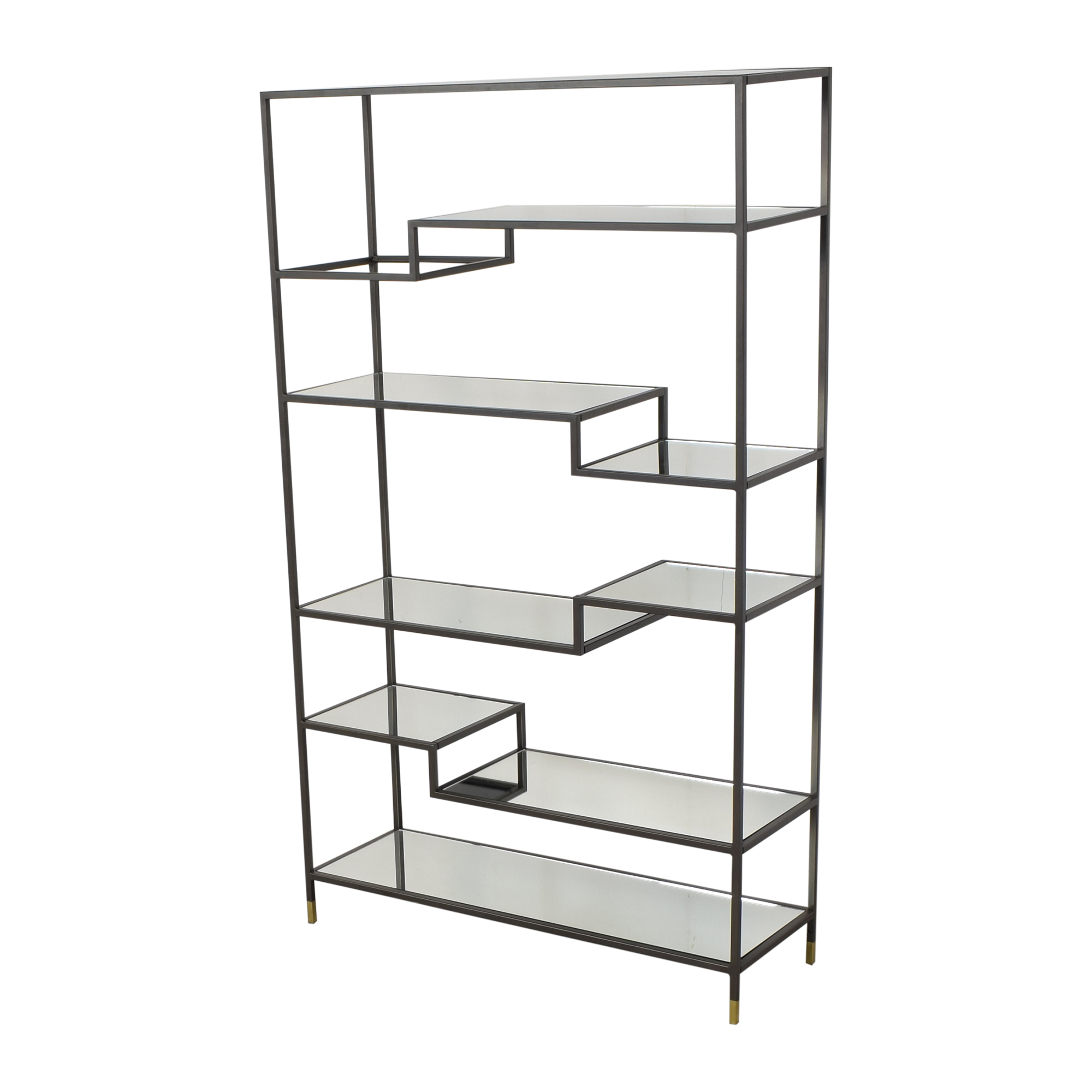 buy West Elm Tiered Tower Bookcase West Elm