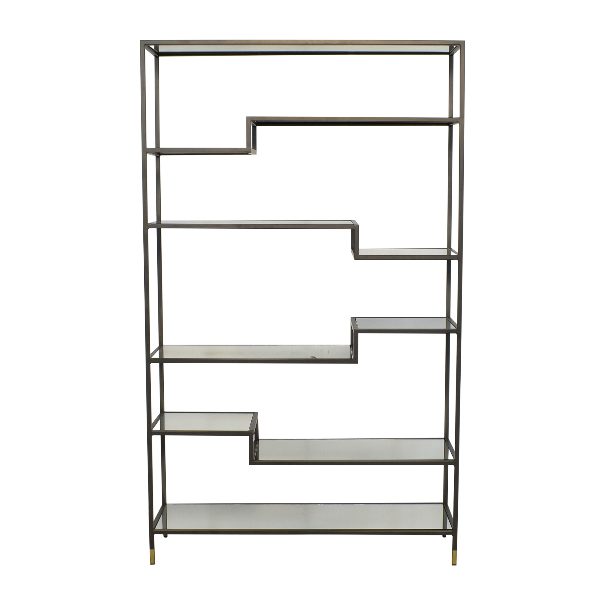West Elm West Elm Tiered Tower Bookcase used