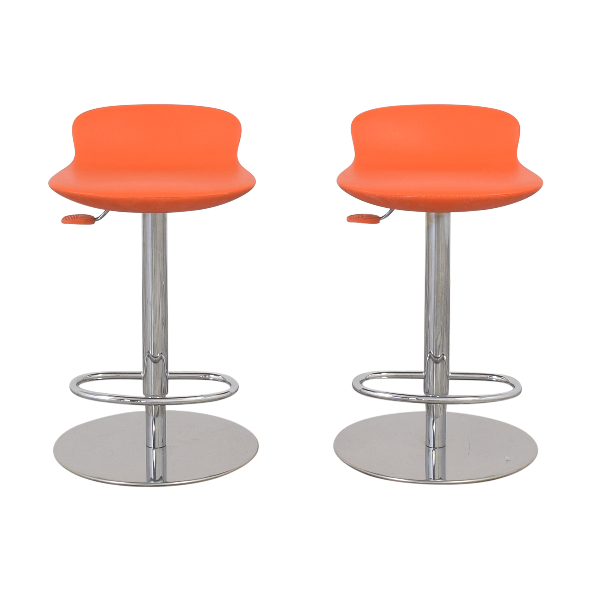 shop Room & Board Leo Swivel Stools Room & Board
