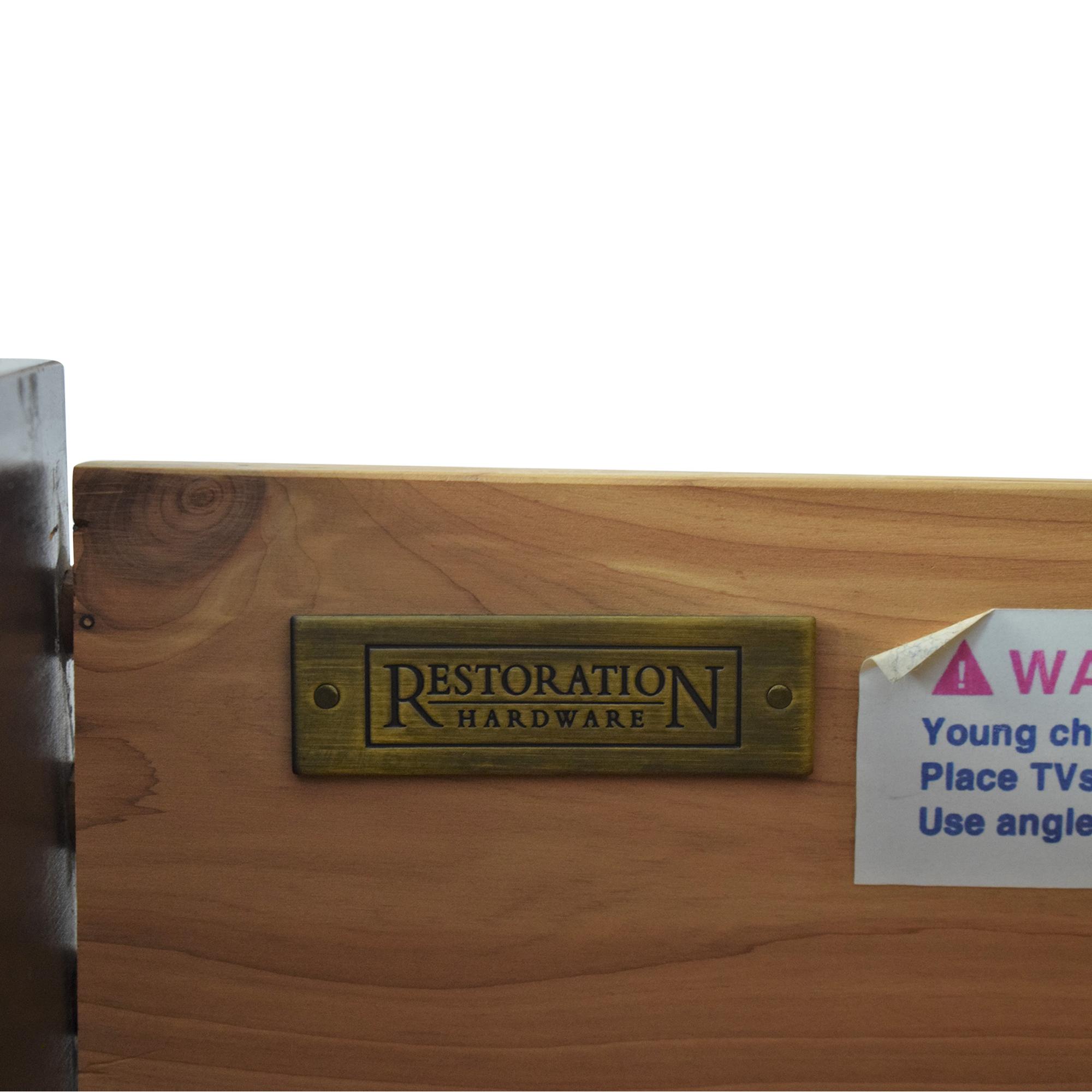 Restoration Hardware Restoration Hardware Marston Eight Drawer Tall Dresser pa