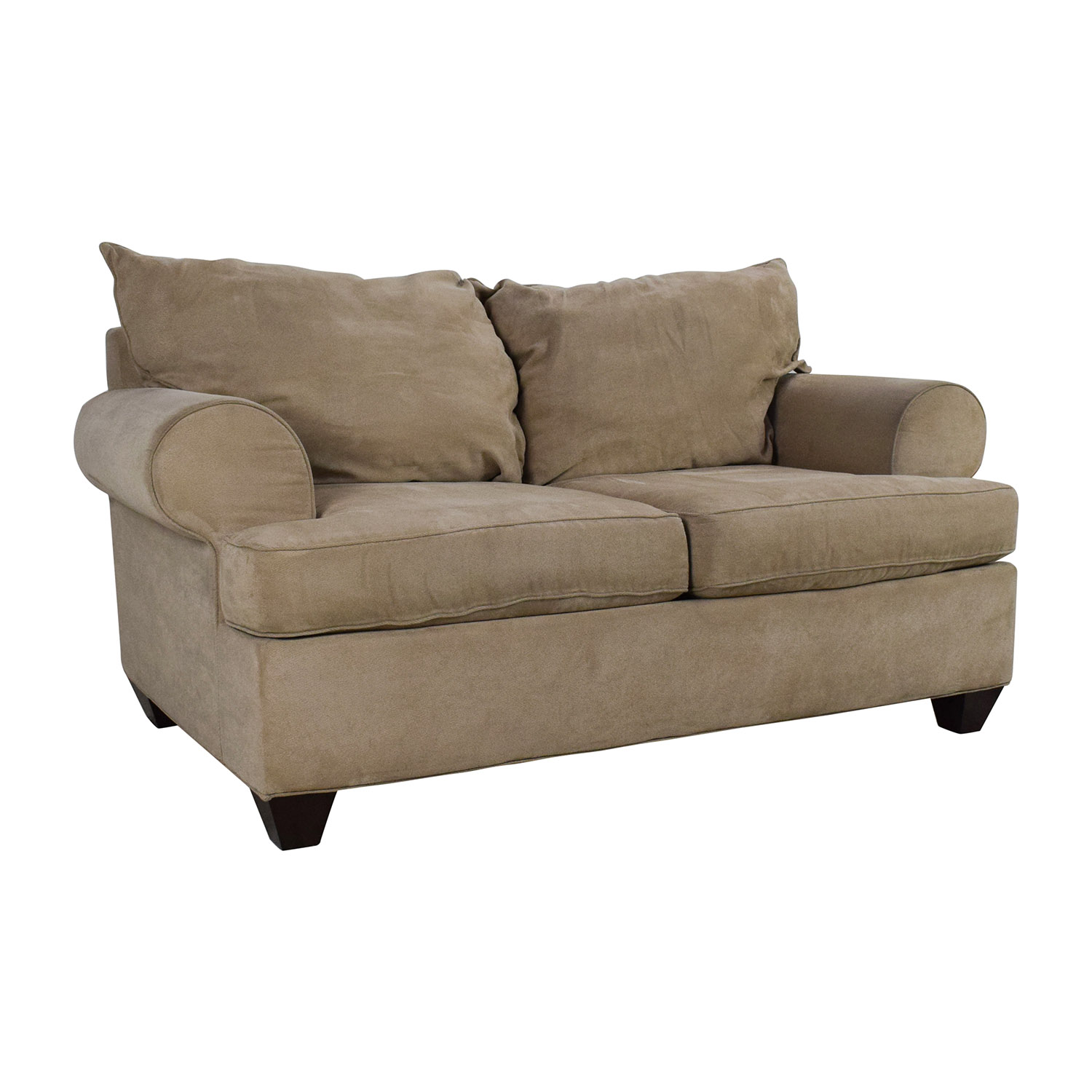 59 Off Raymour And Flanigan Raymour Flanigan Vegas Microfiber Sofa Sofas