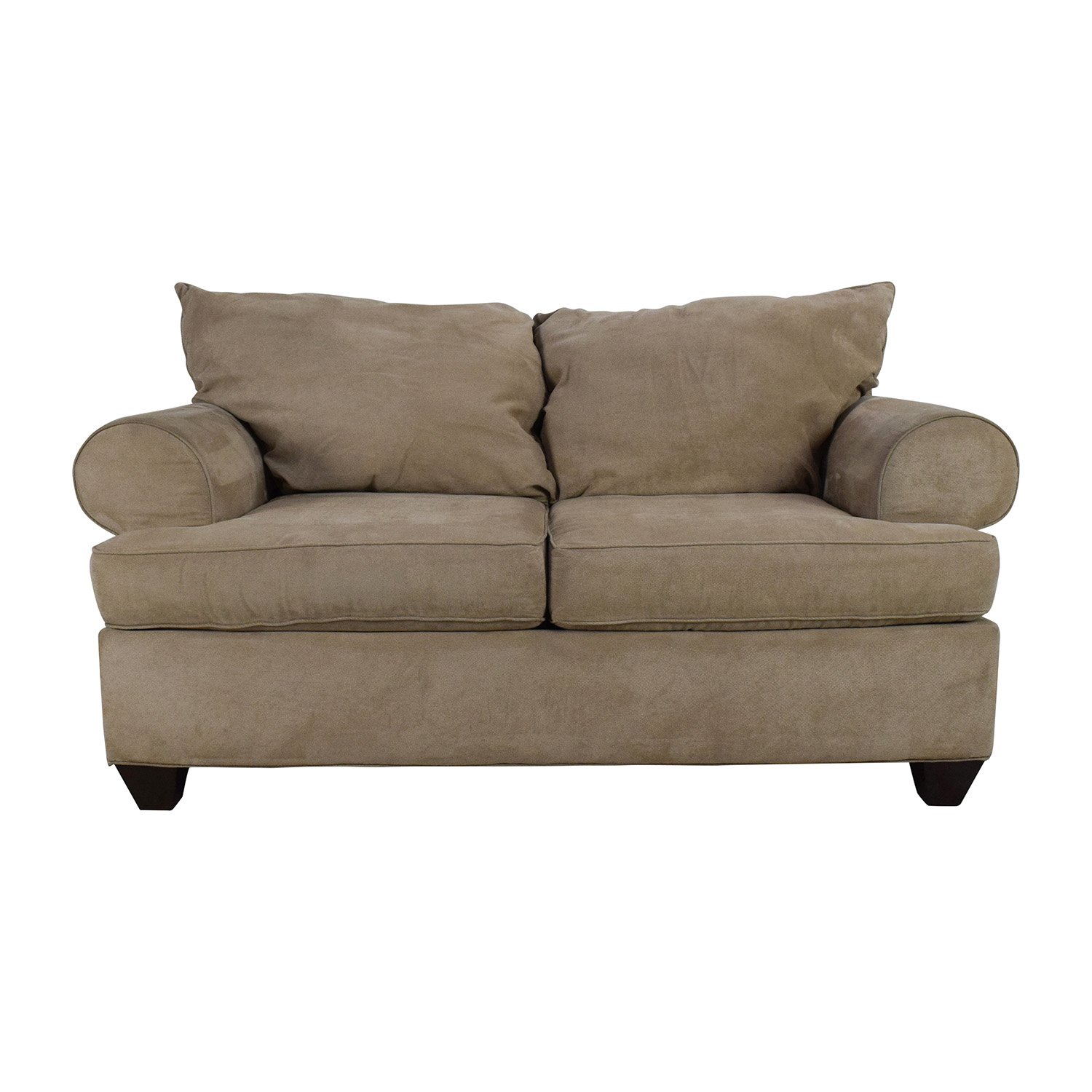Picture of: 59 Off Raymour Flanigan Raymour Flanigan Vegas Microfiber Sofa Sofas