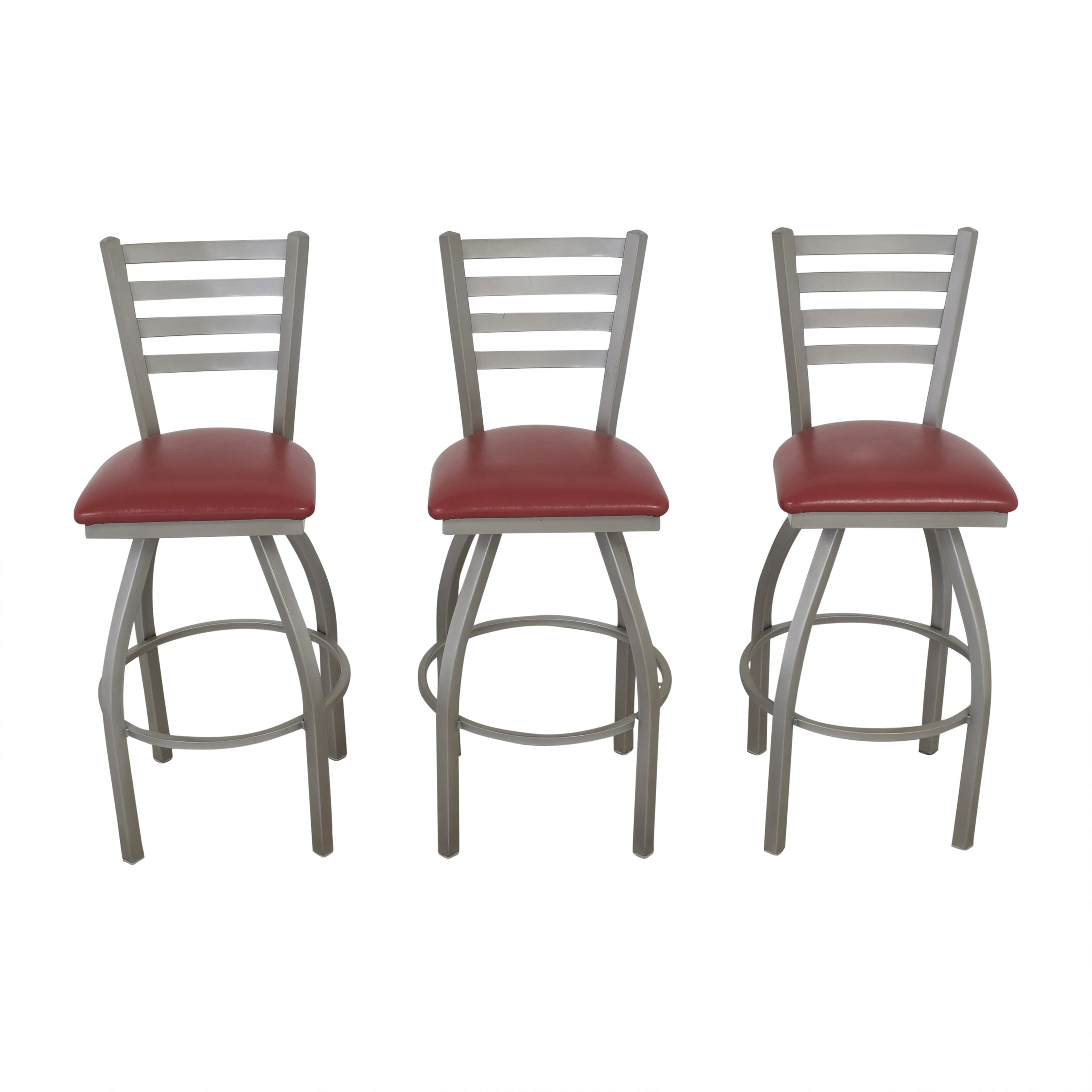 Grand Rapids Bookcase and Chair Co. Grand Rapids Bookcase and Chair Co. Anne Swivel Bar Stools pa