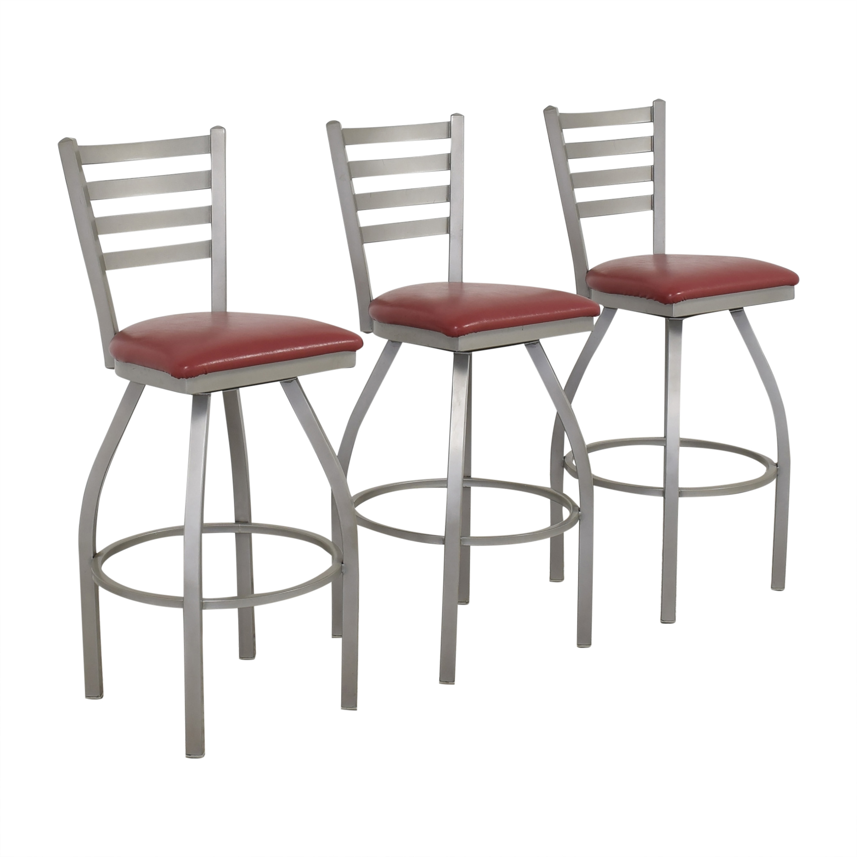 Grand Rapids Bookcase and Chair Co. Grand Rapids Bookcase and Chair Co. Anne Swivel Bar Stools