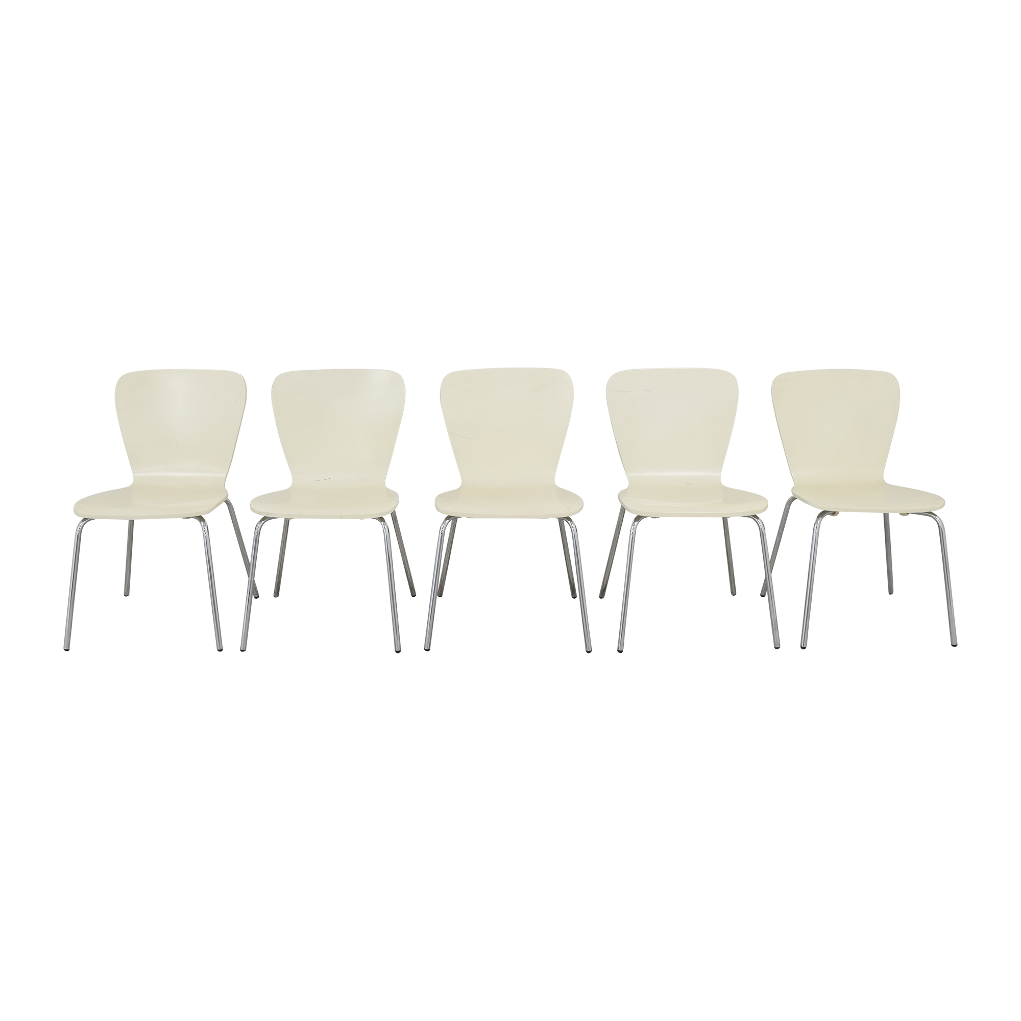 Crate & Barrel Crate & Barrel Felix Side Chairs discount