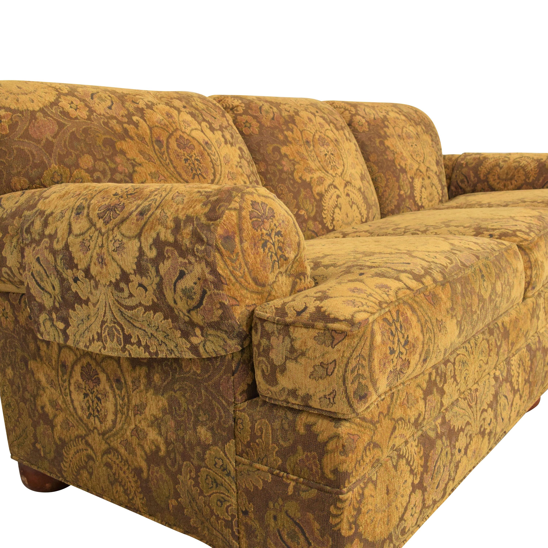 shop Ethan Allen Three Cushion Sofa Ethan Allen