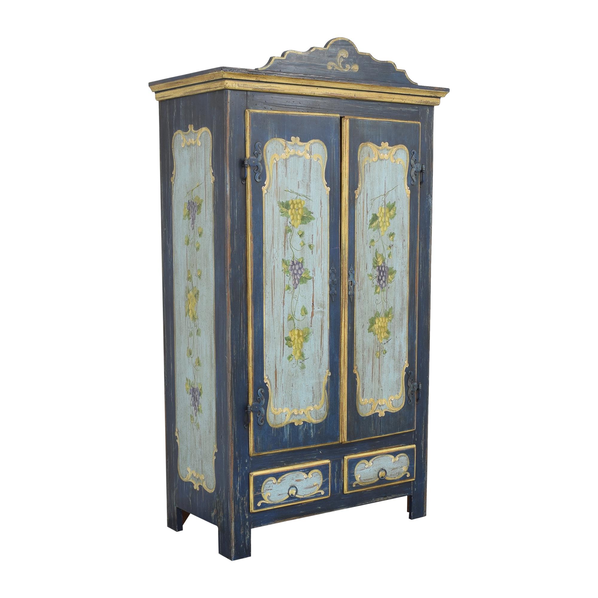 buy  Italian Painted Armoire online