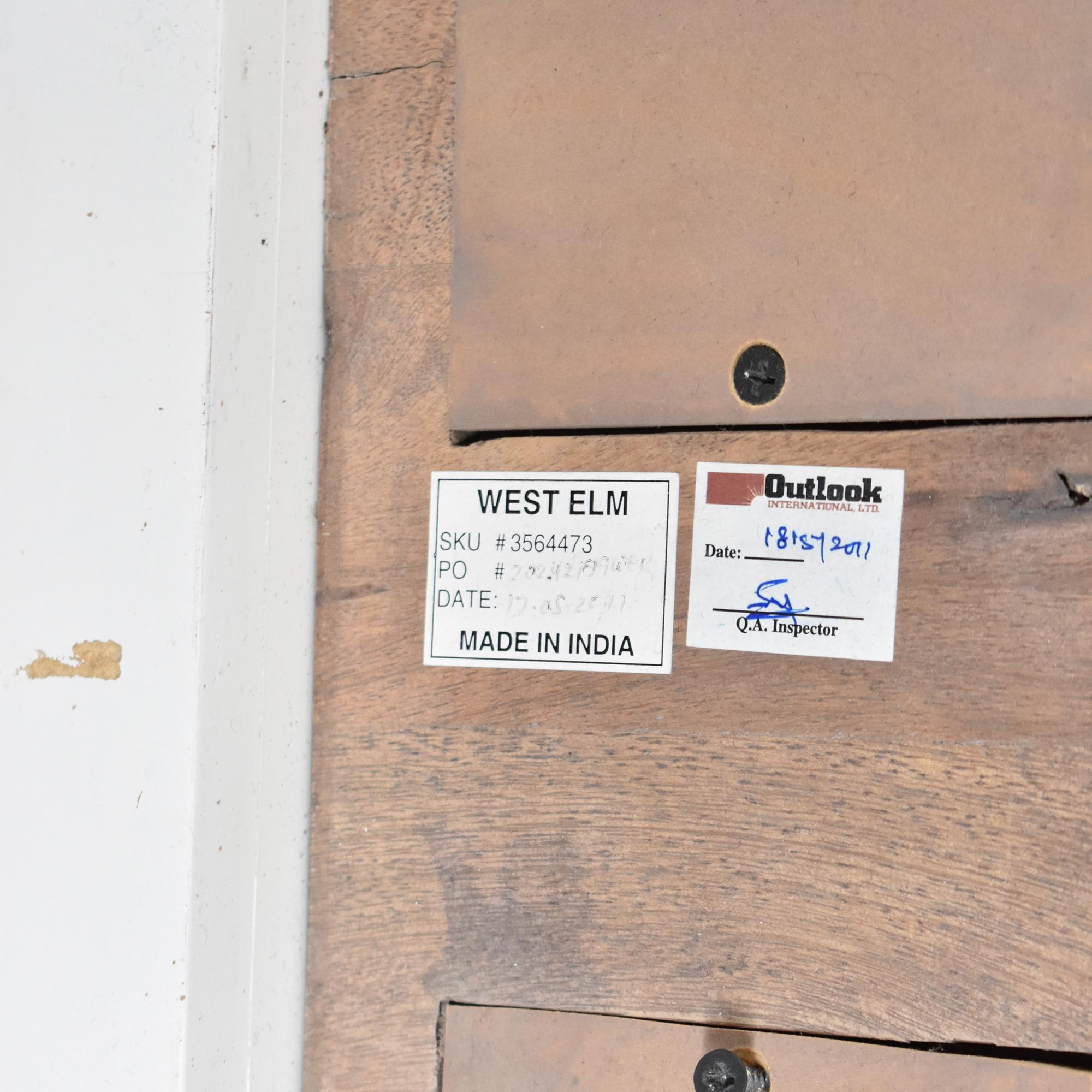 West Elm Weathered Mango Bookshelves / Bookcases & Shelving