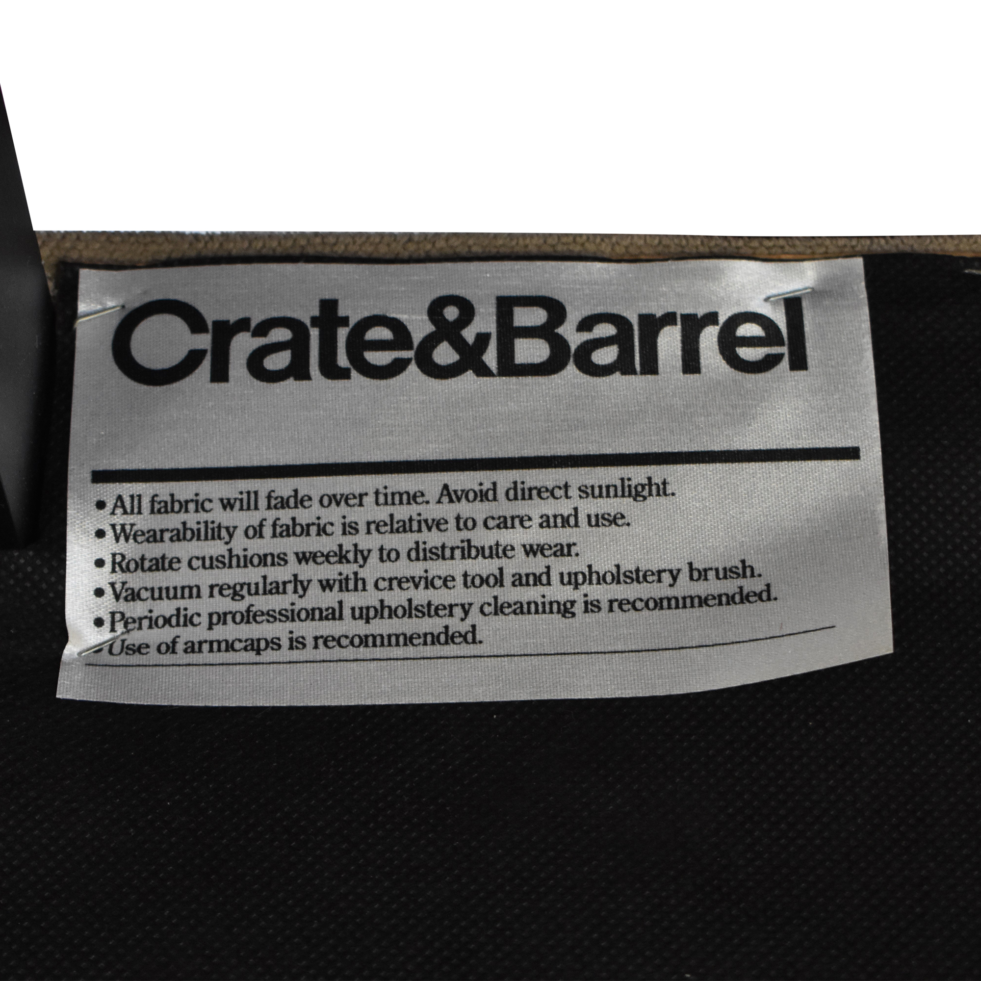 buy Crate & Barrel Upholstered Dining Chairs Crate & Barrel