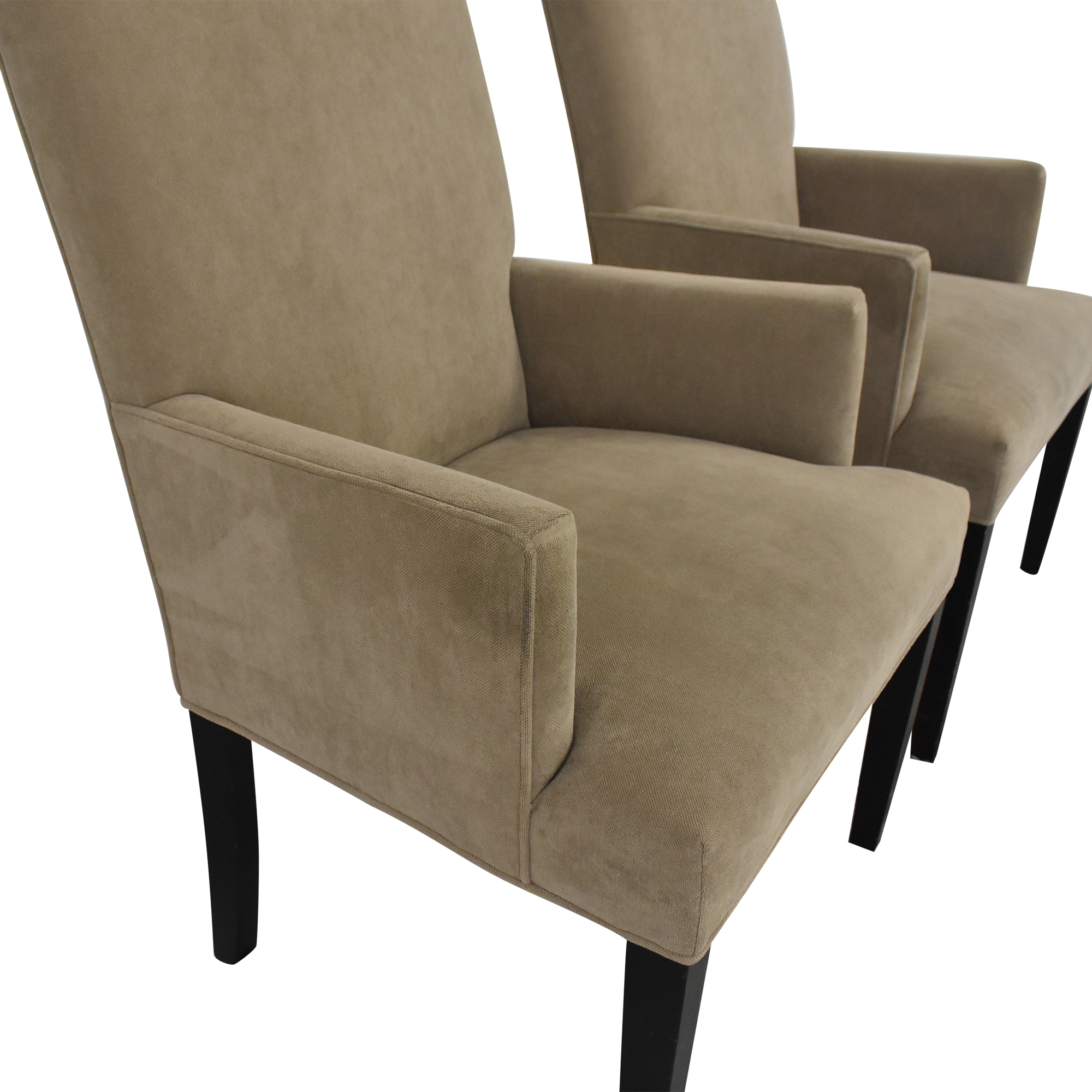 shop Crate & Barrel Upholstered Dining Chairs Crate & Barrel Chairs