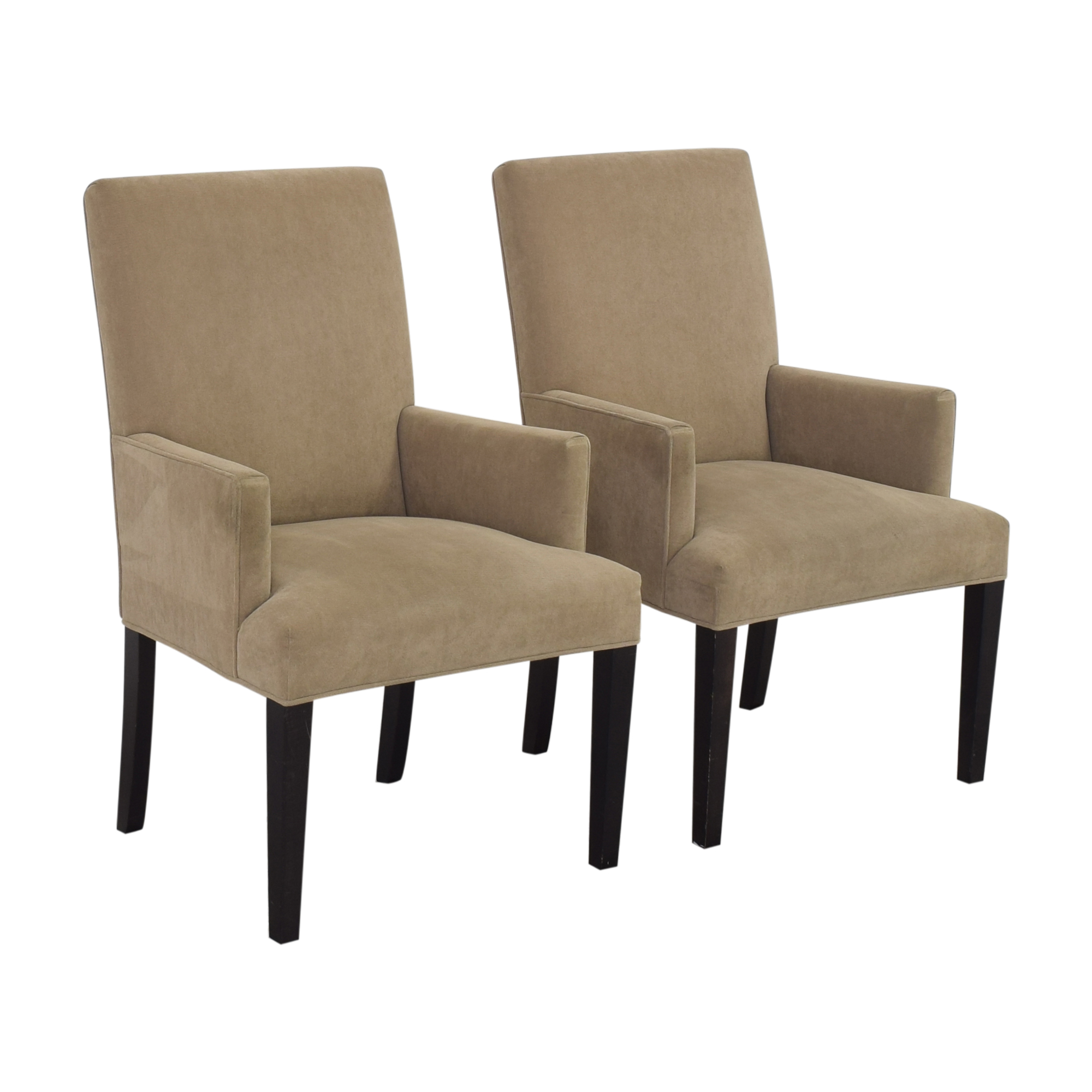 Crate & Barrel Upholstered Dining Chairs Crate & Barrel