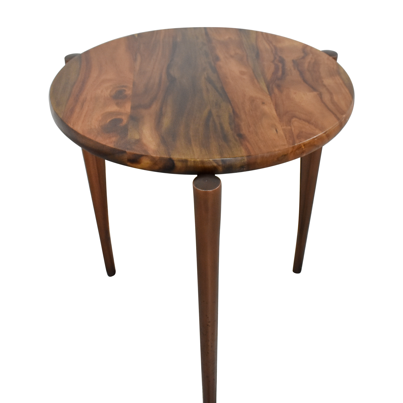 shop Brownstone Palisades Tripod End Table Brownstone Furniture End Tables